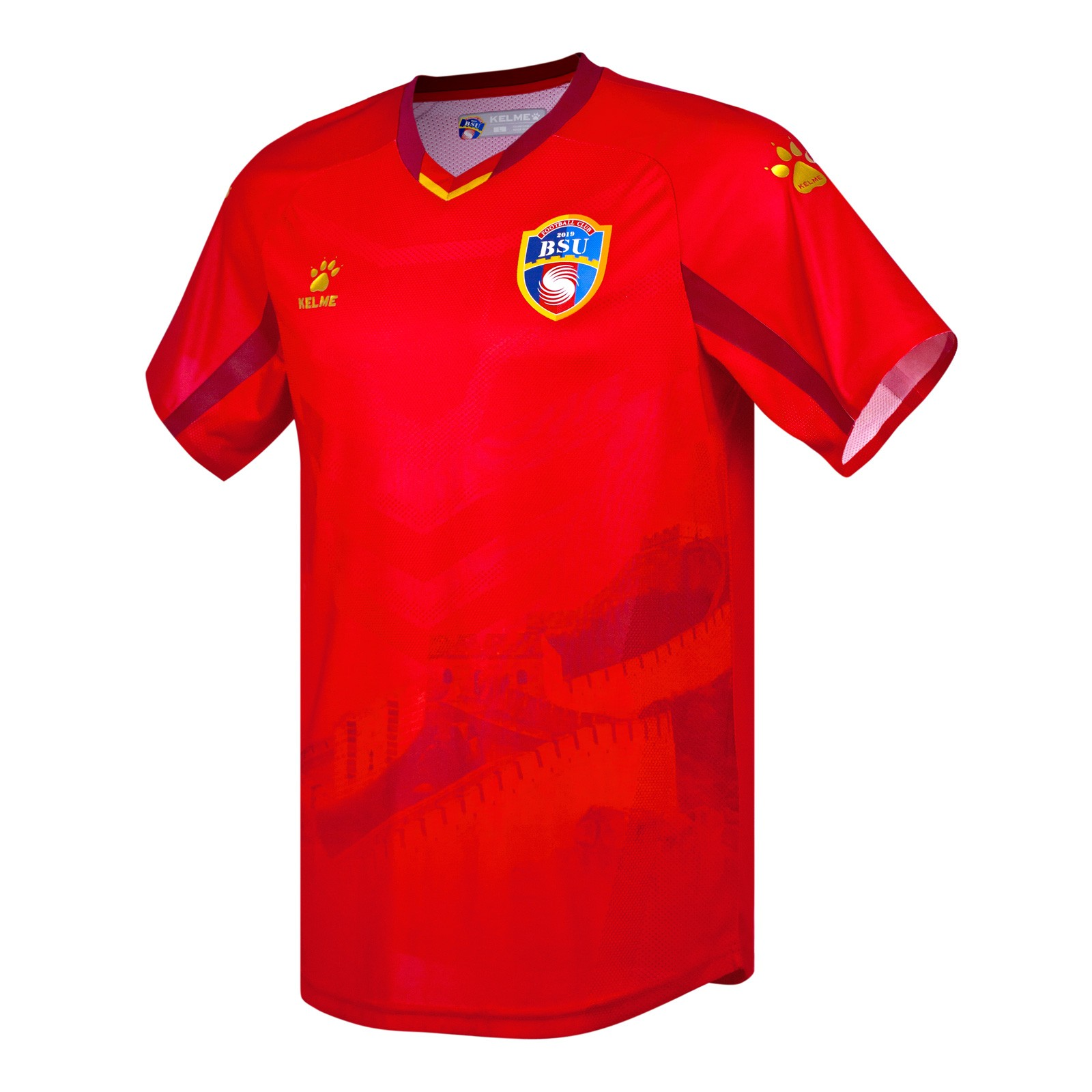 北京北体大2020赛季球员版主场球衣