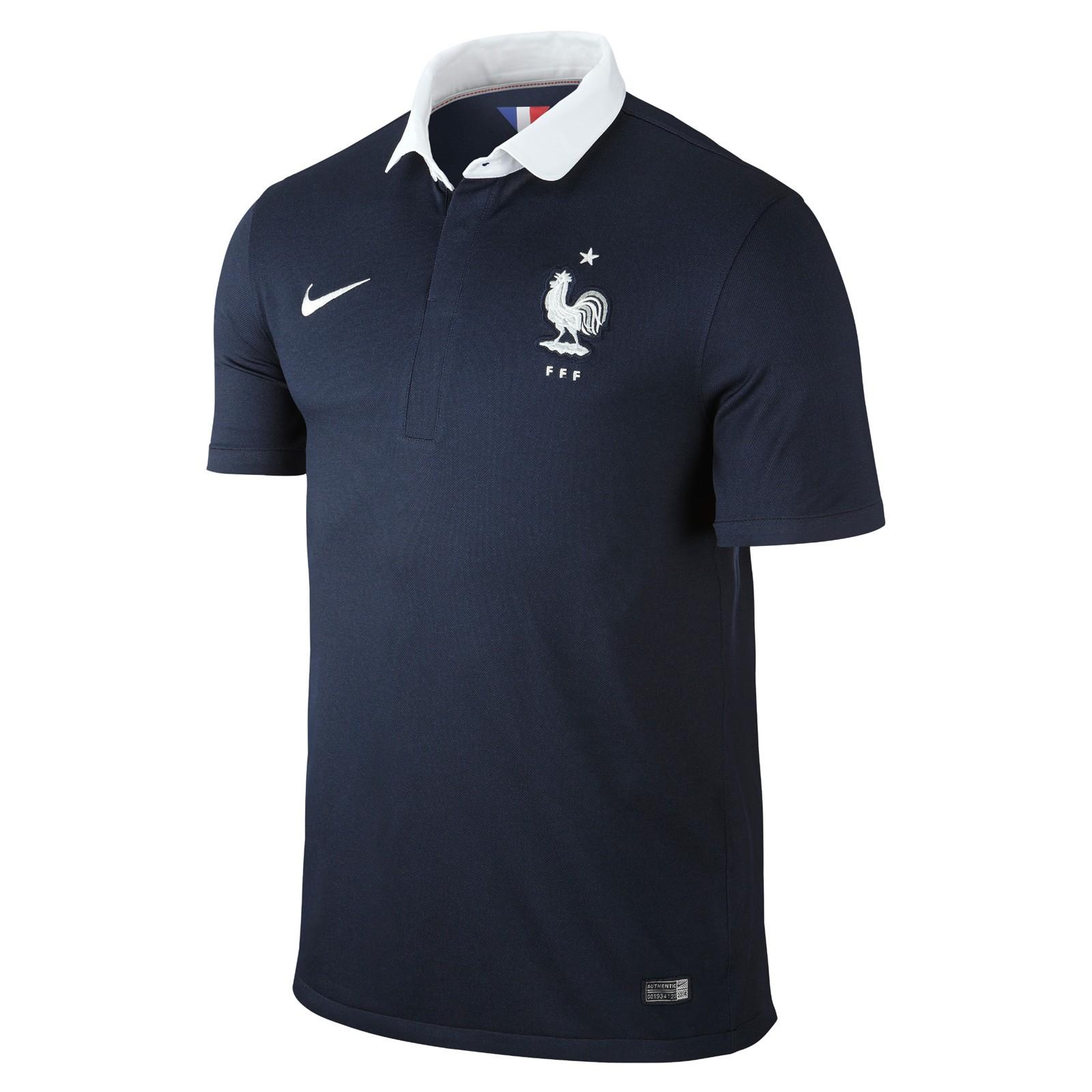 法国国家队2014世界杯球迷版主场球衣