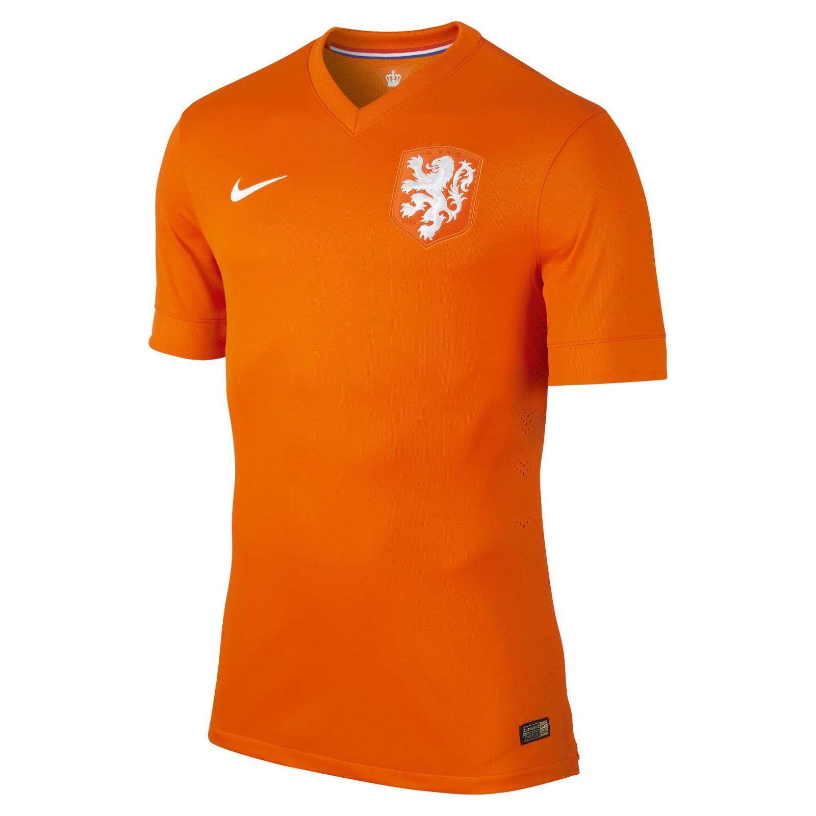 荷兰国家队2014世界杯球员版主场球衣