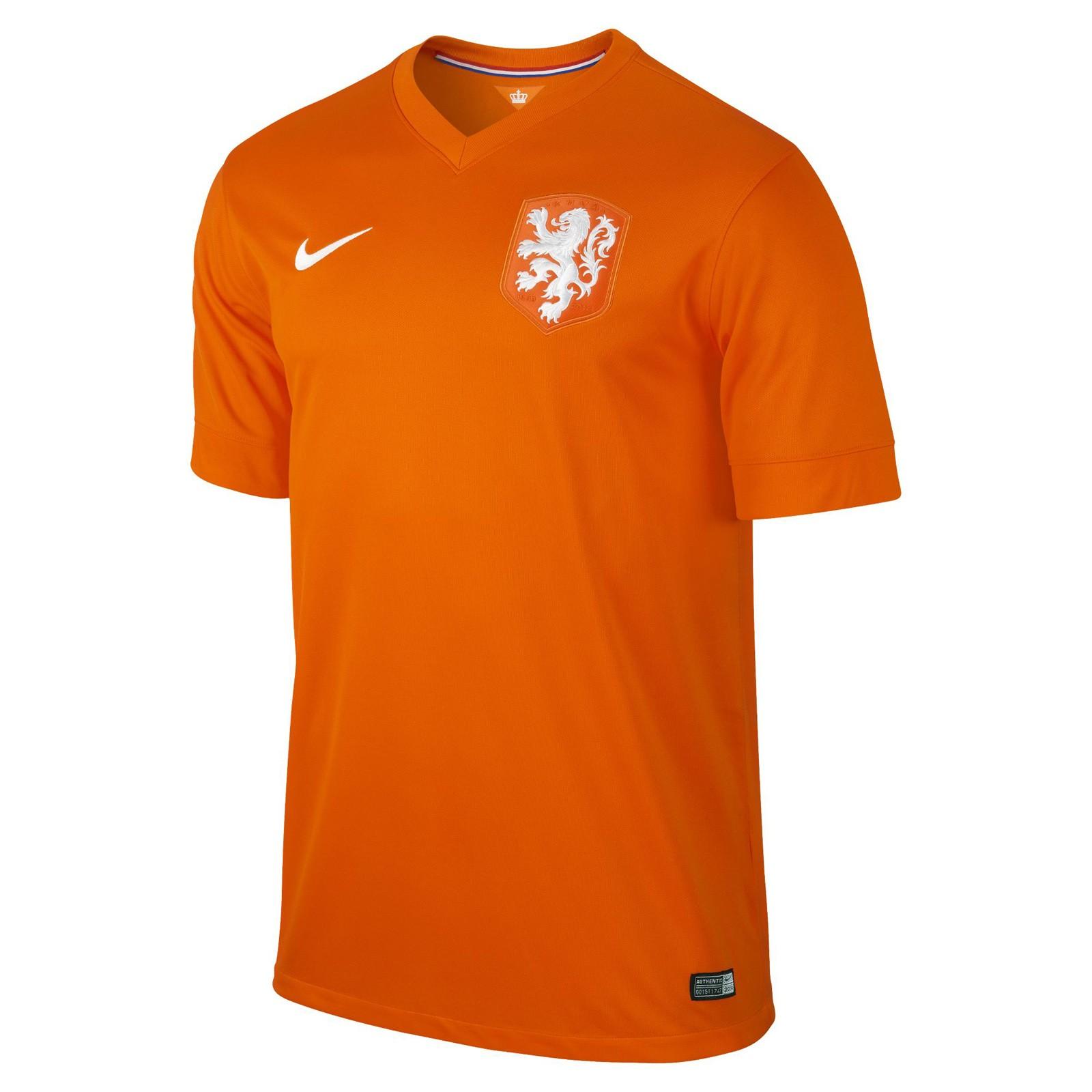 荷兰国家队2014世界杯球迷版主场球衣