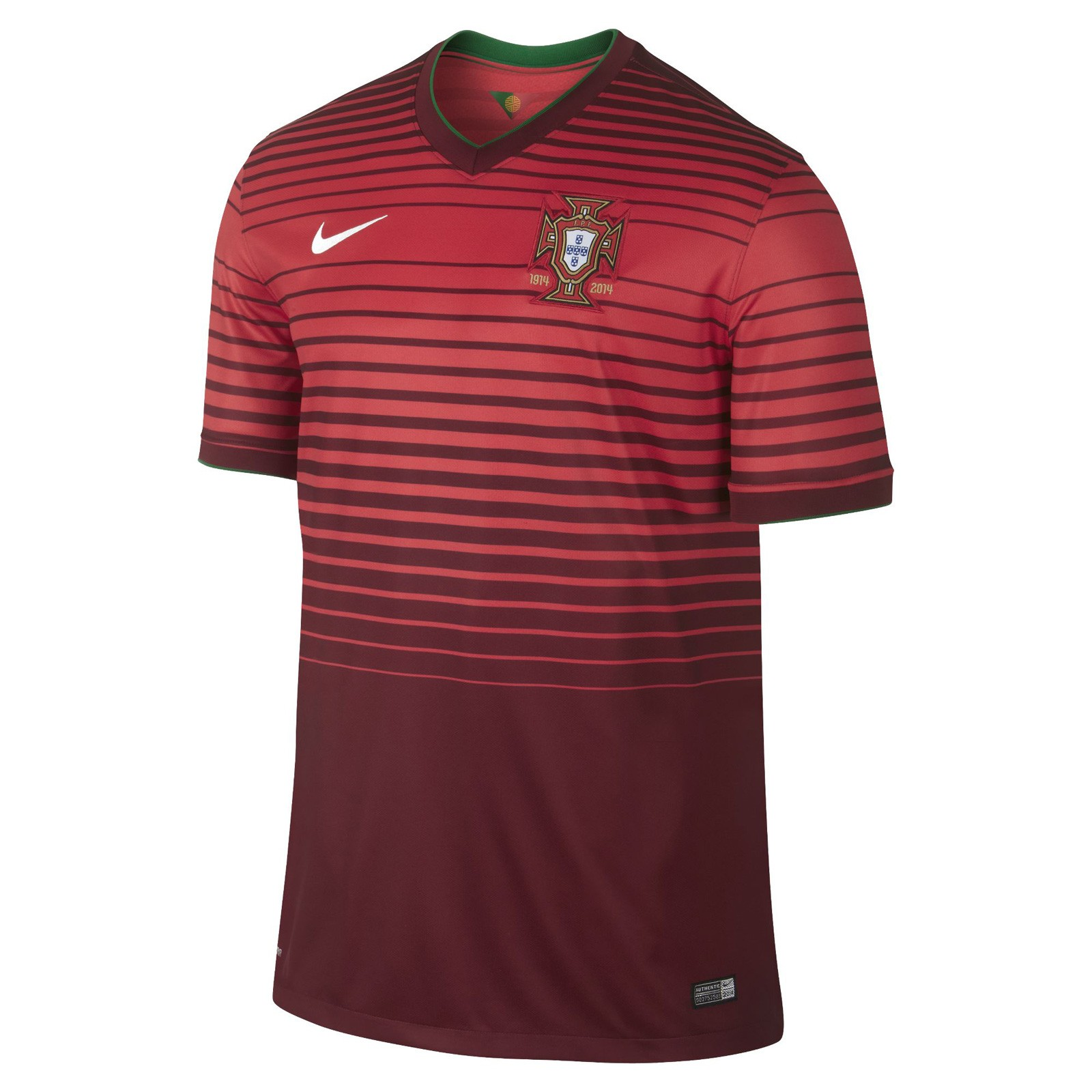 葡萄牙国家队2014世界杯球迷版主场球衣