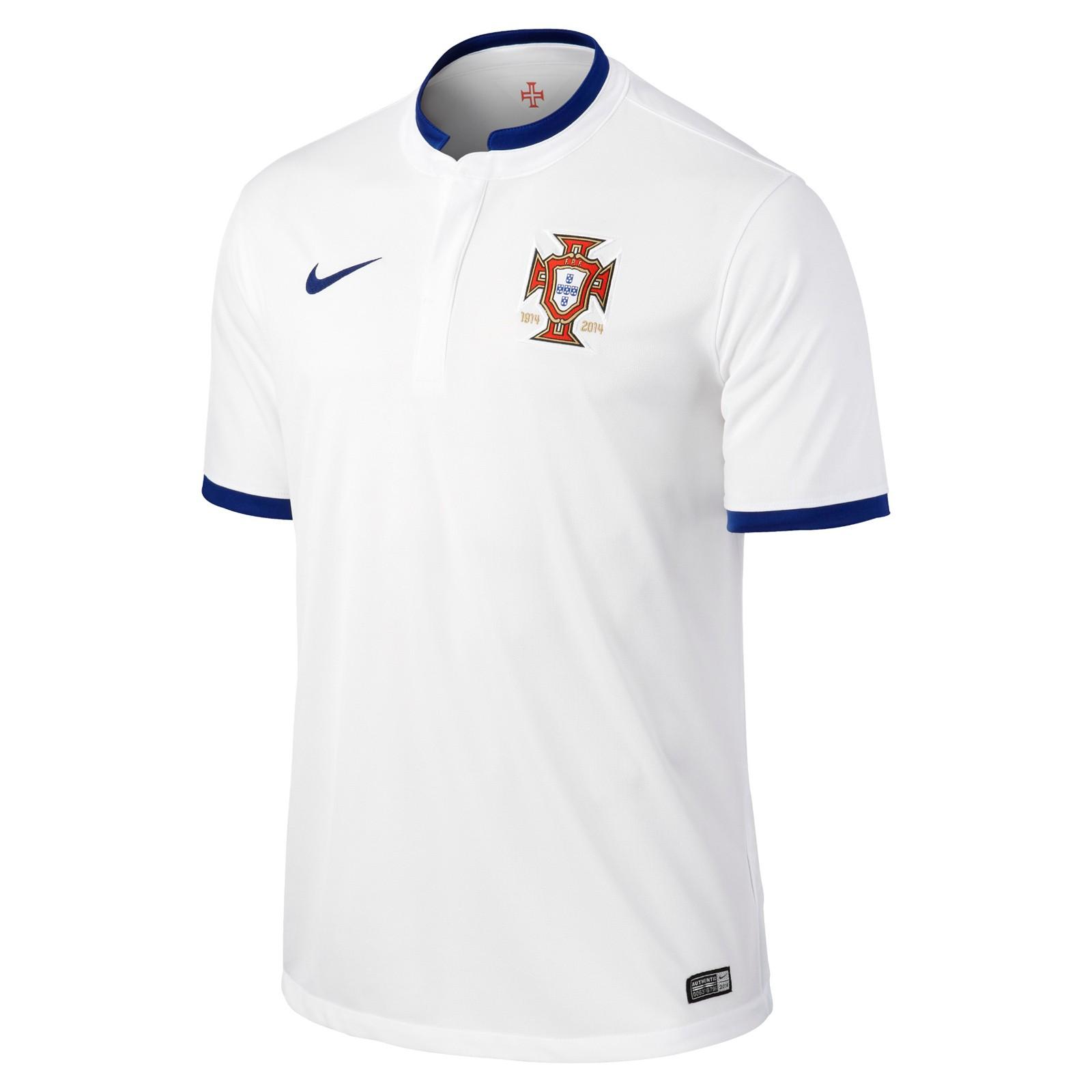 葡萄牙国家队2014世界杯球迷版客场球衣