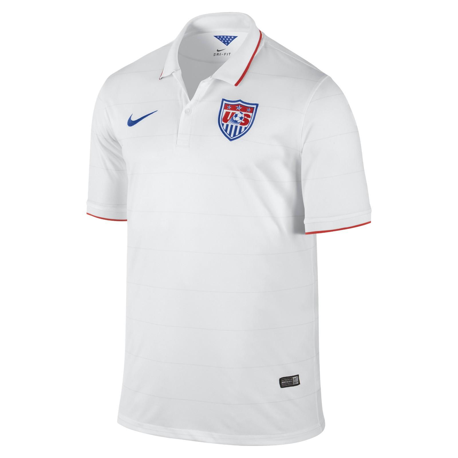 美国国家队2014世界杯球迷版主场球衣