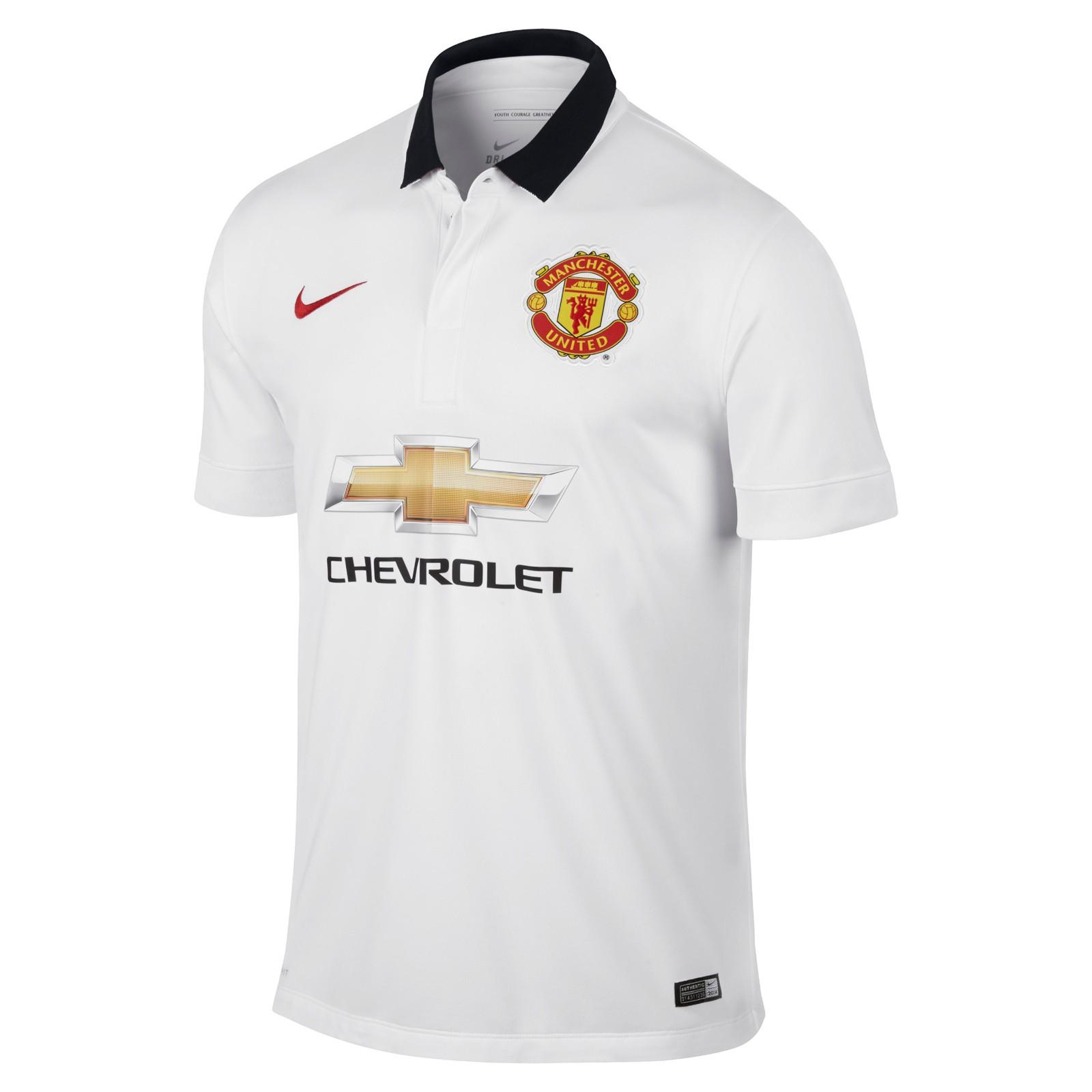 曼彻斯特联2014-15赛季球迷版客场球衣