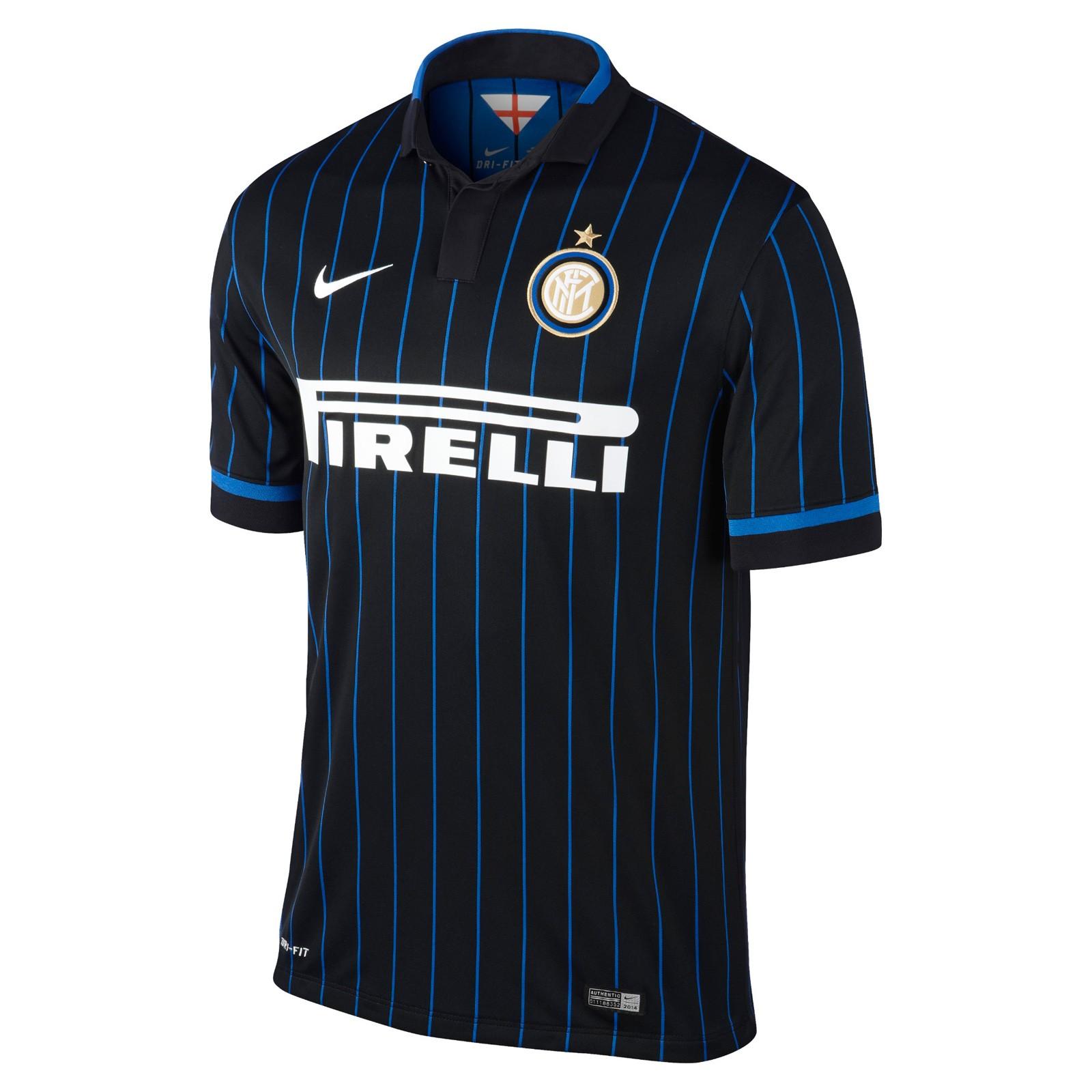 国际米兰2014-15赛季球迷版主场球衣