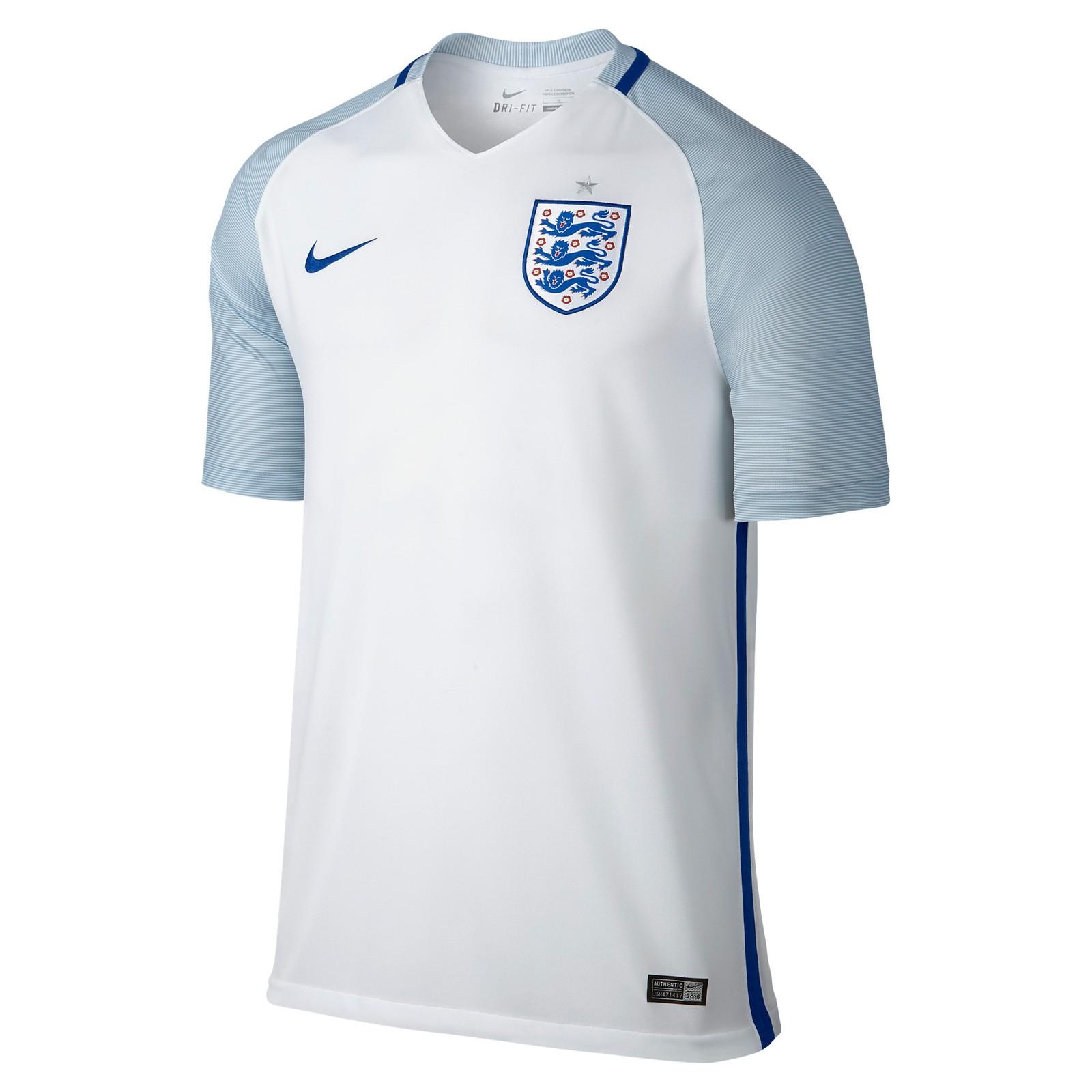 英格兰国家队2016欧洲杯球迷版主场球衣