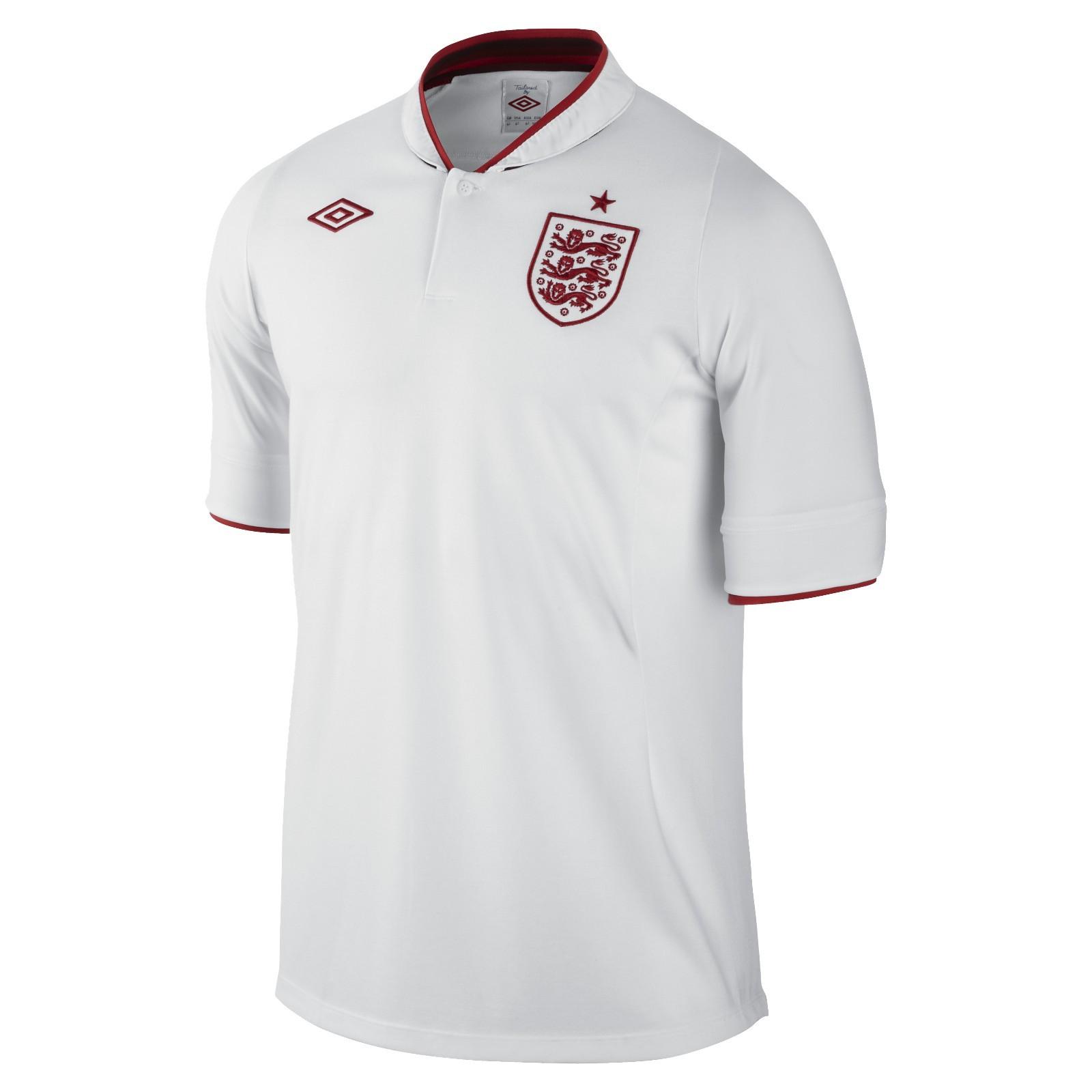 英格兰国家队2012欧洲杯主场球衣