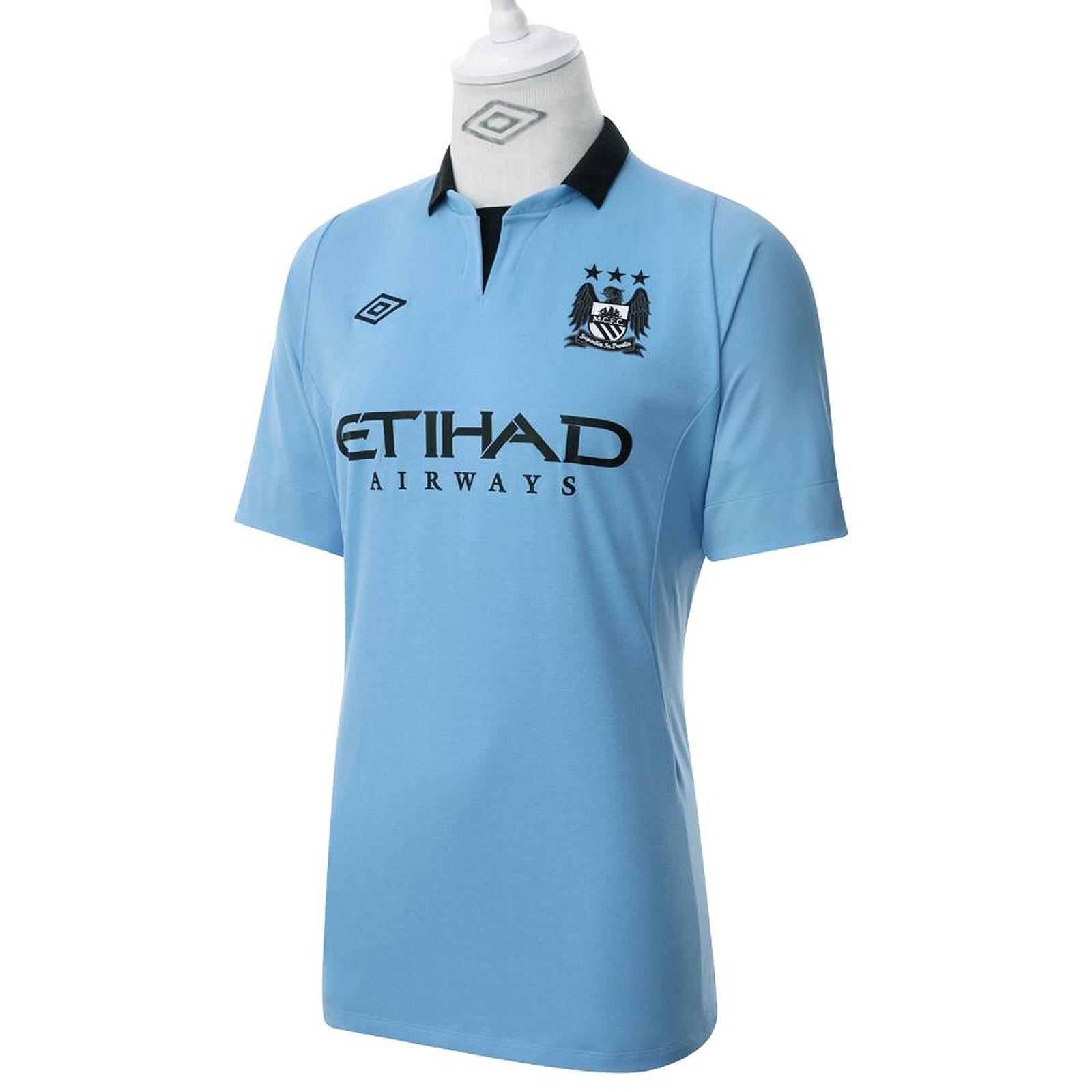 曼彻斯特城2012/13赛季主场球衣