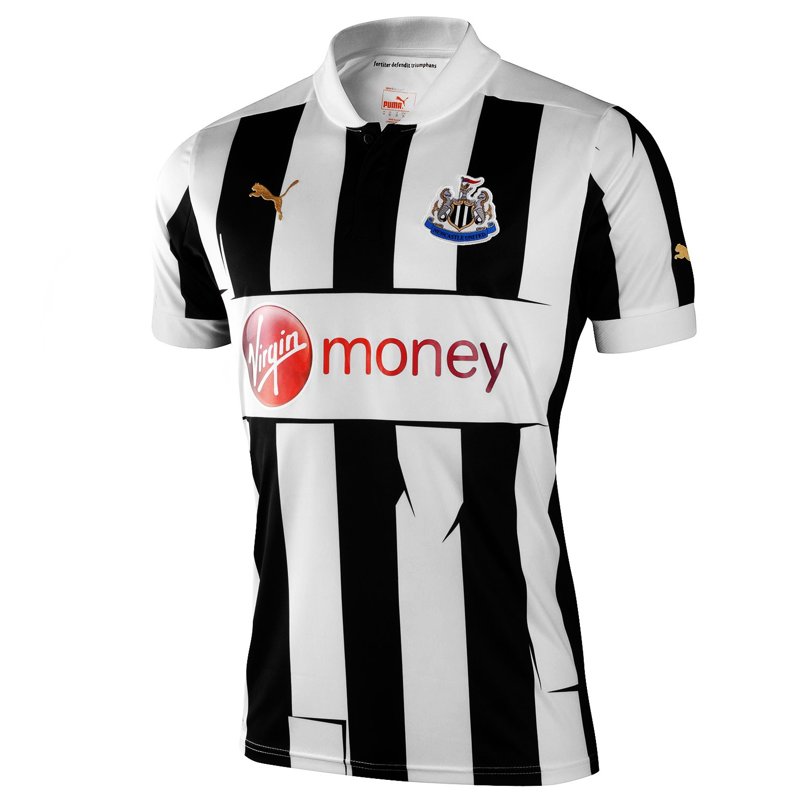 纽卡斯尔联2012-13赛季球迷版主场球衣