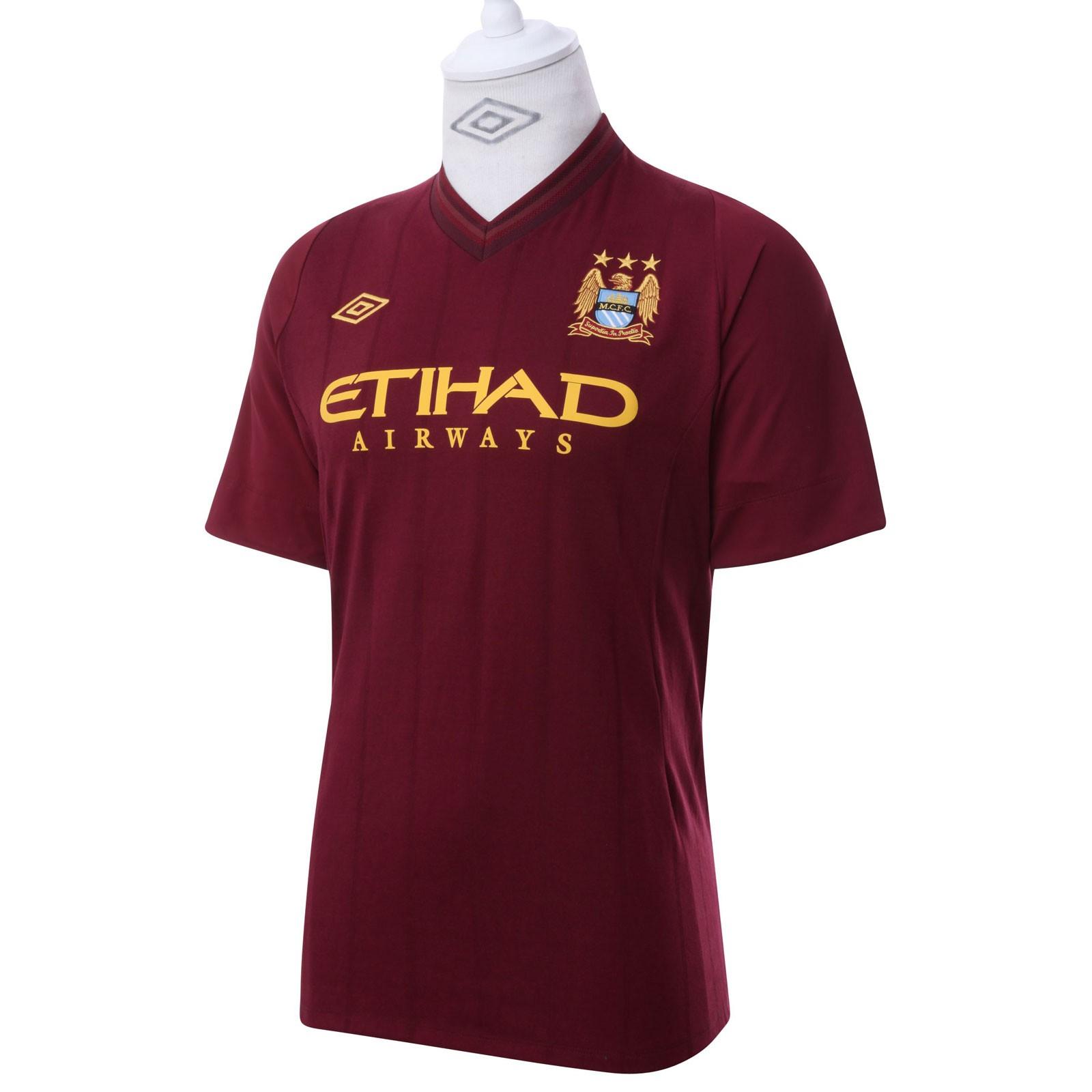 曼彻斯特城2012/13赛季客场球衣