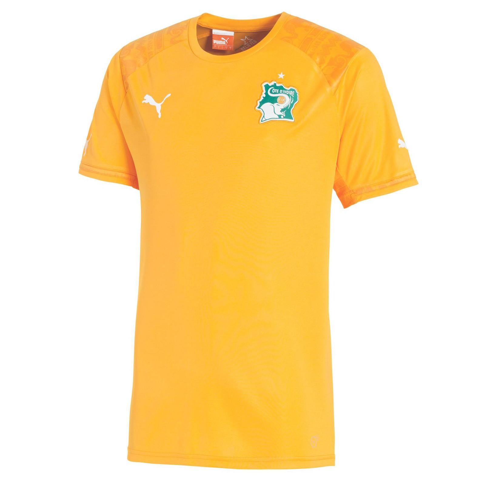 科特迪瓦国家队2014世界杯球迷版主场球衣