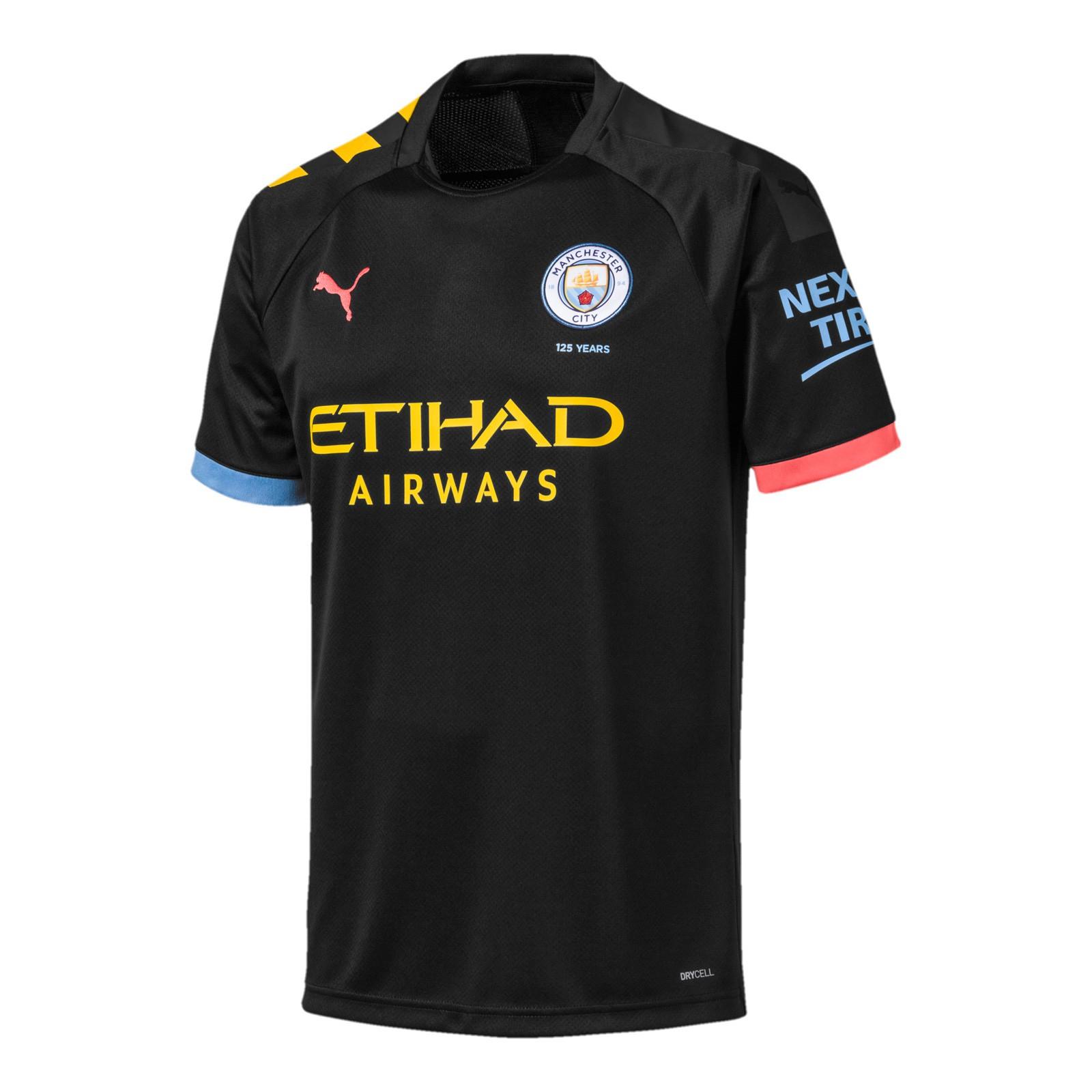 曼彻斯特城2019-20赛季球迷版客场球衣