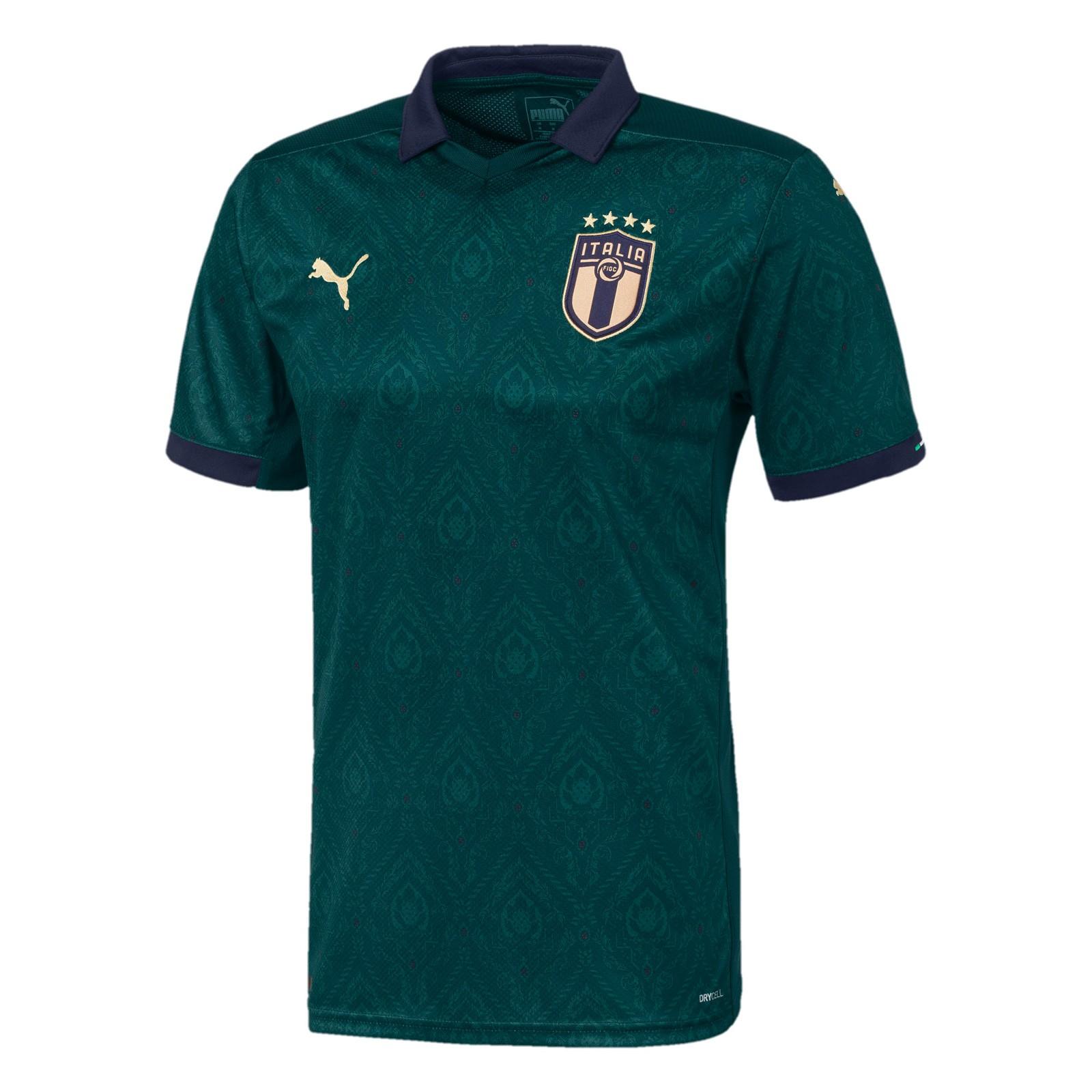 意大利国家队2019-20赛季球迷版第二客场球衣