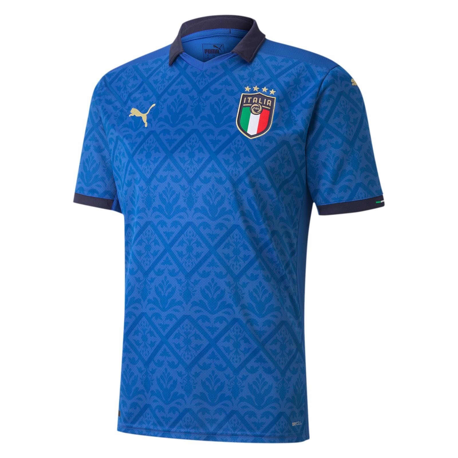意大利国家队2020欧洲杯球迷版主场球衣