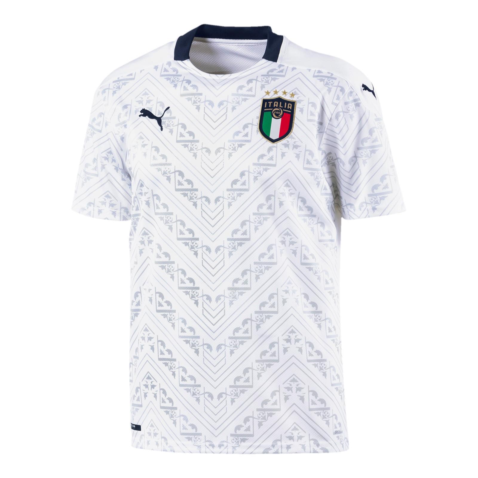 意大利国家队2020欧洲杯球迷版客场球衣