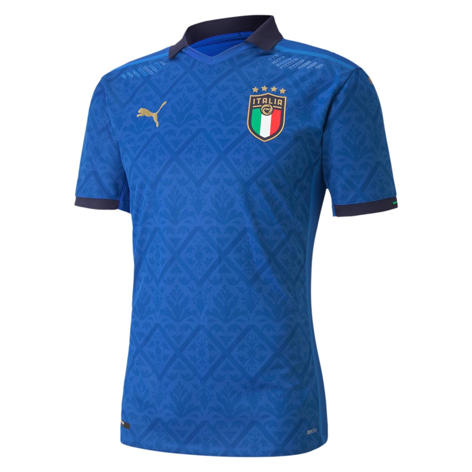 意大利国家队2020欧洲杯球员版主场球衣
