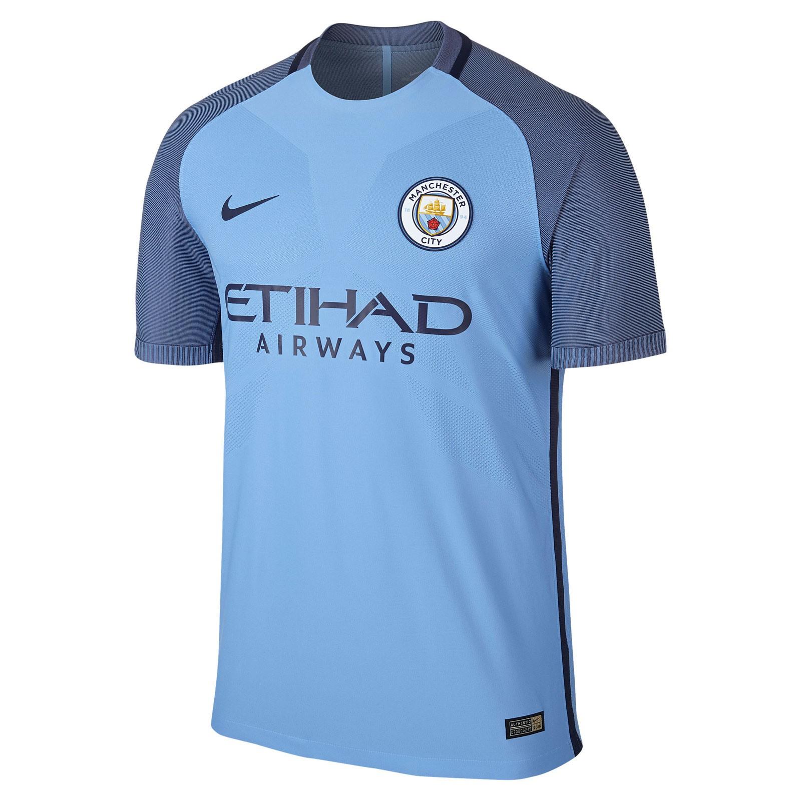 曼彻斯特城2016-17赛季球员版主场球衣