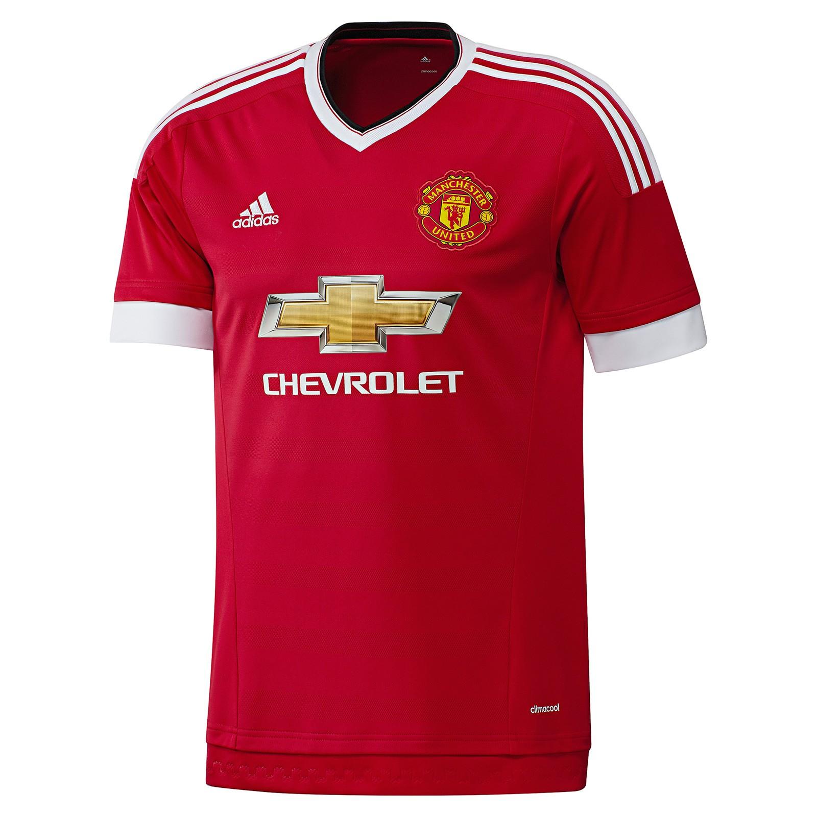 曼彻斯特联2015-16赛季球迷版主场球衣