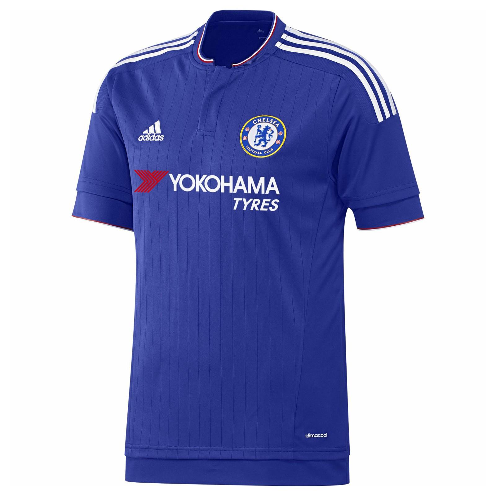 切尔西2015-16赛季球迷版主场球衣