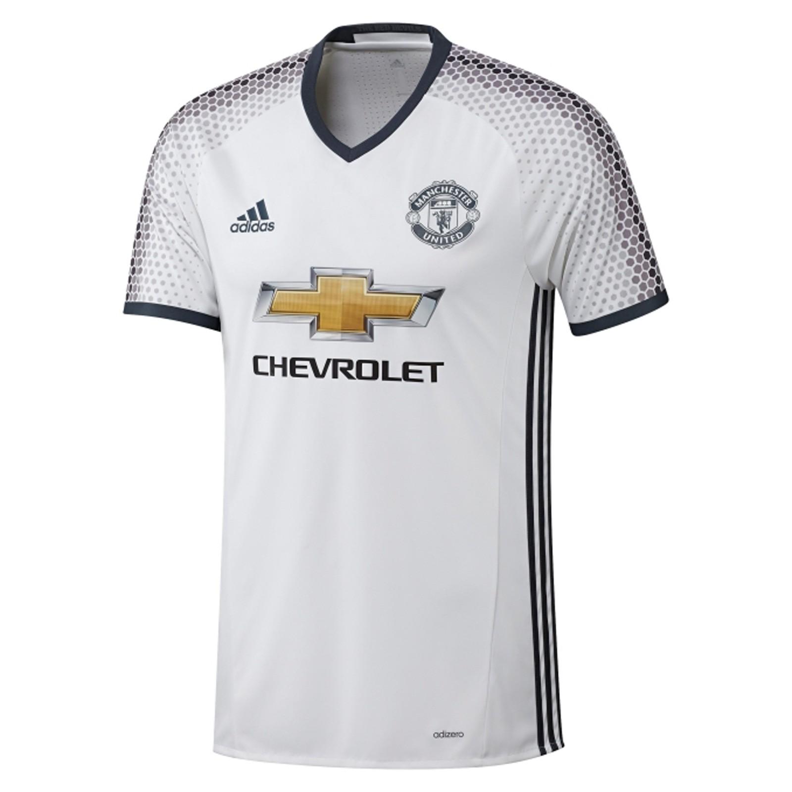 曼彻斯特联2016-17赛季球员版第二客场球衣
