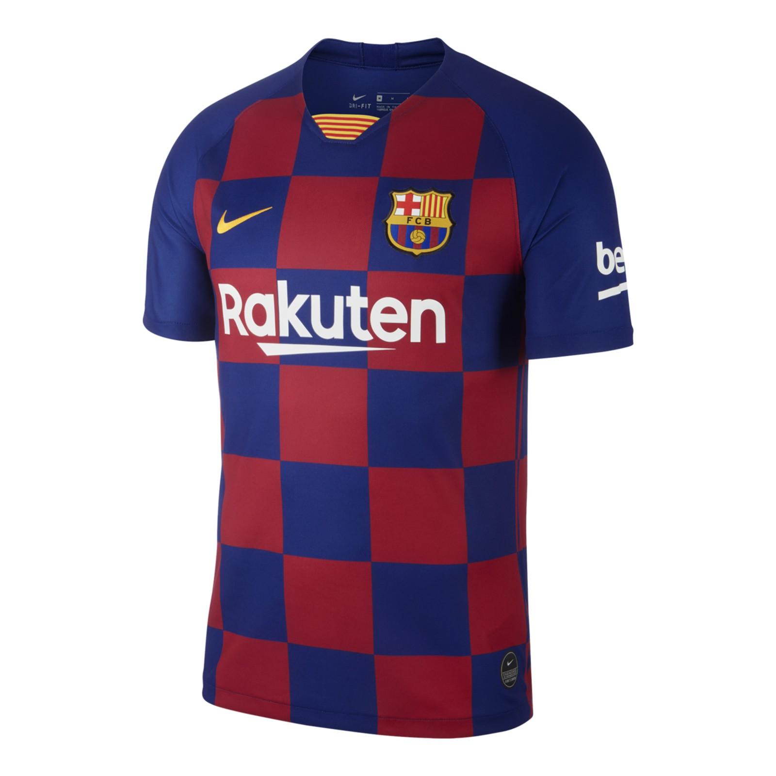 巴塞罗那2019-20赛季球迷版主场球衣