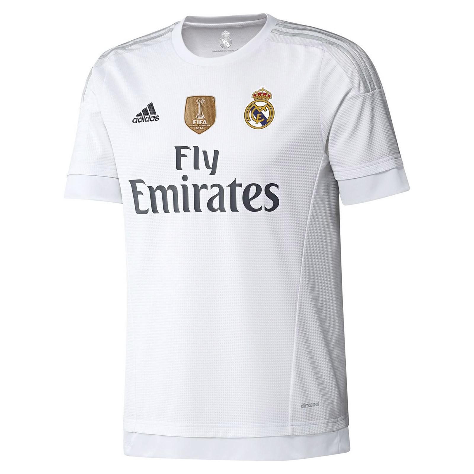 皇家马德里2015-16赛季球迷版主场球衣