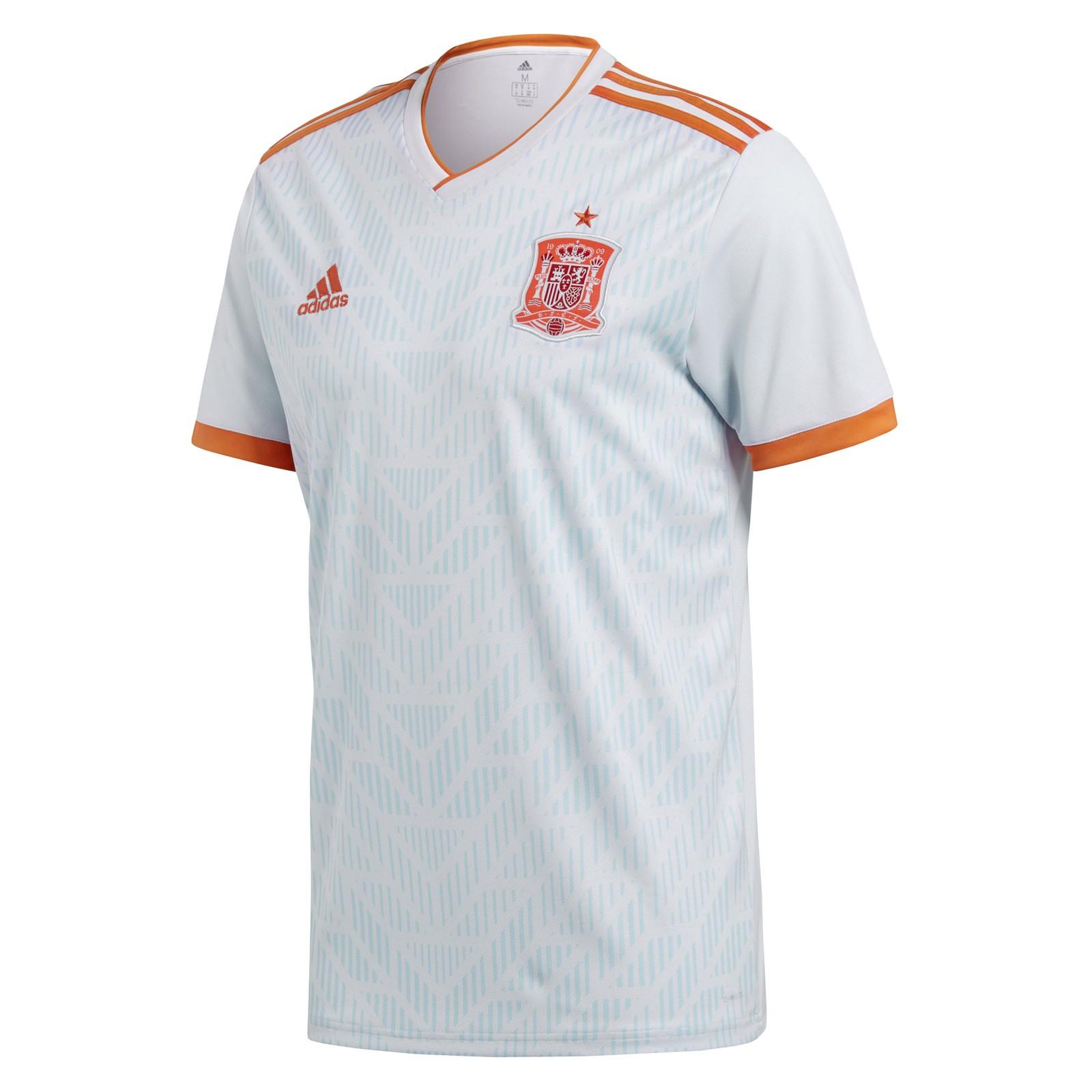 西班牙国家队2018世界杯球迷版客场球衣