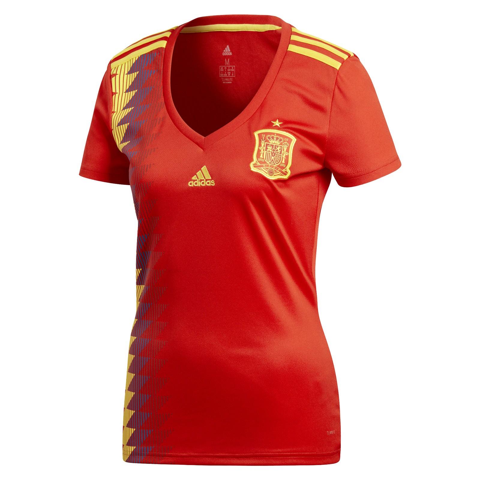 西班牙国家队2018世界杯女版主场球衣