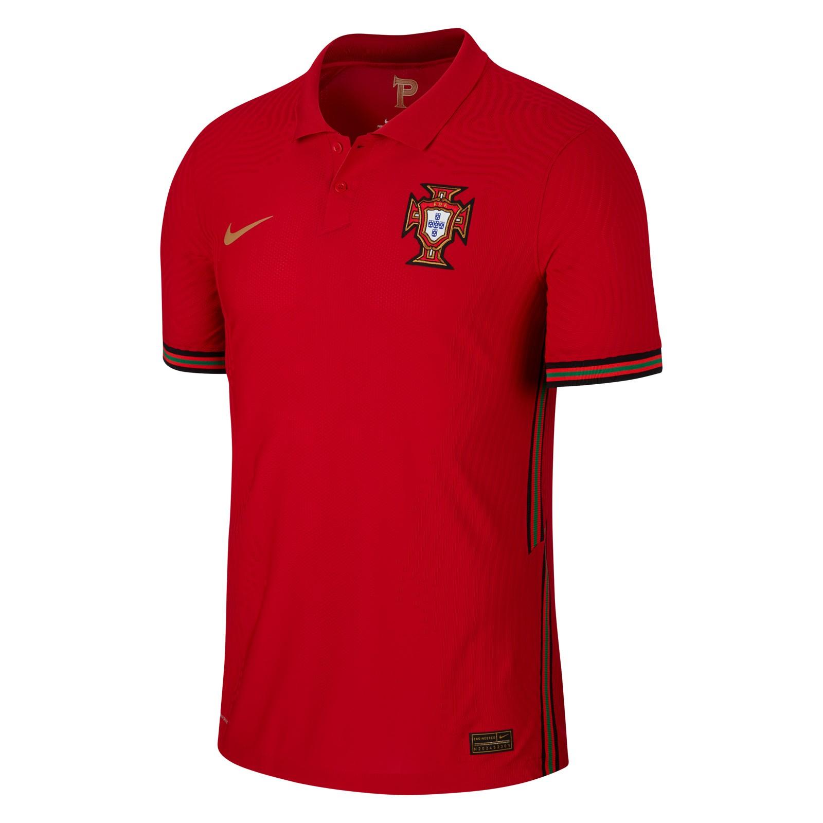 葡萄牙国家队2020欧洲杯球员版主场球衣