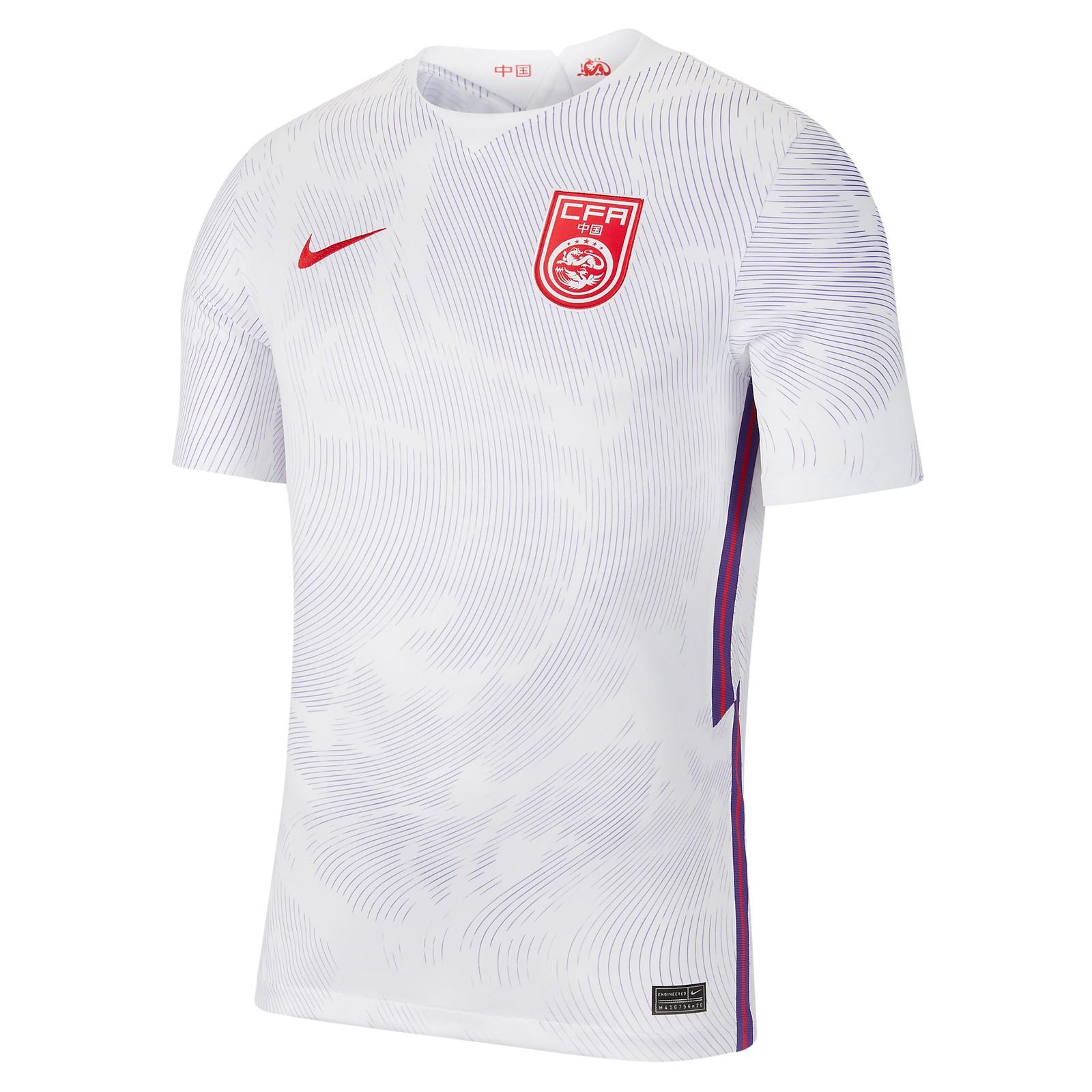 中国国家队2020赛季球迷版客场球衣