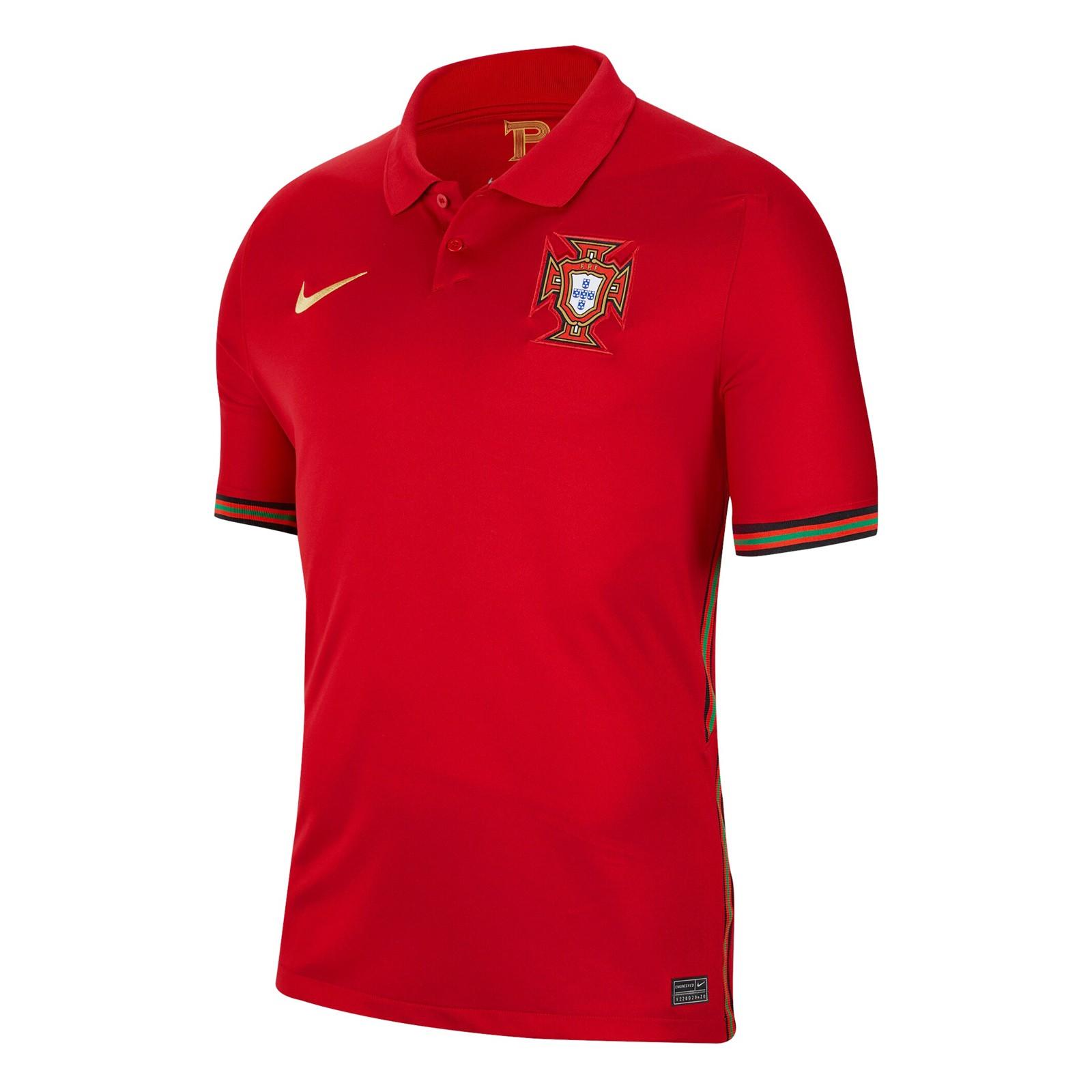 葡萄牙国家队2020欧洲杯球迷版主场球衣