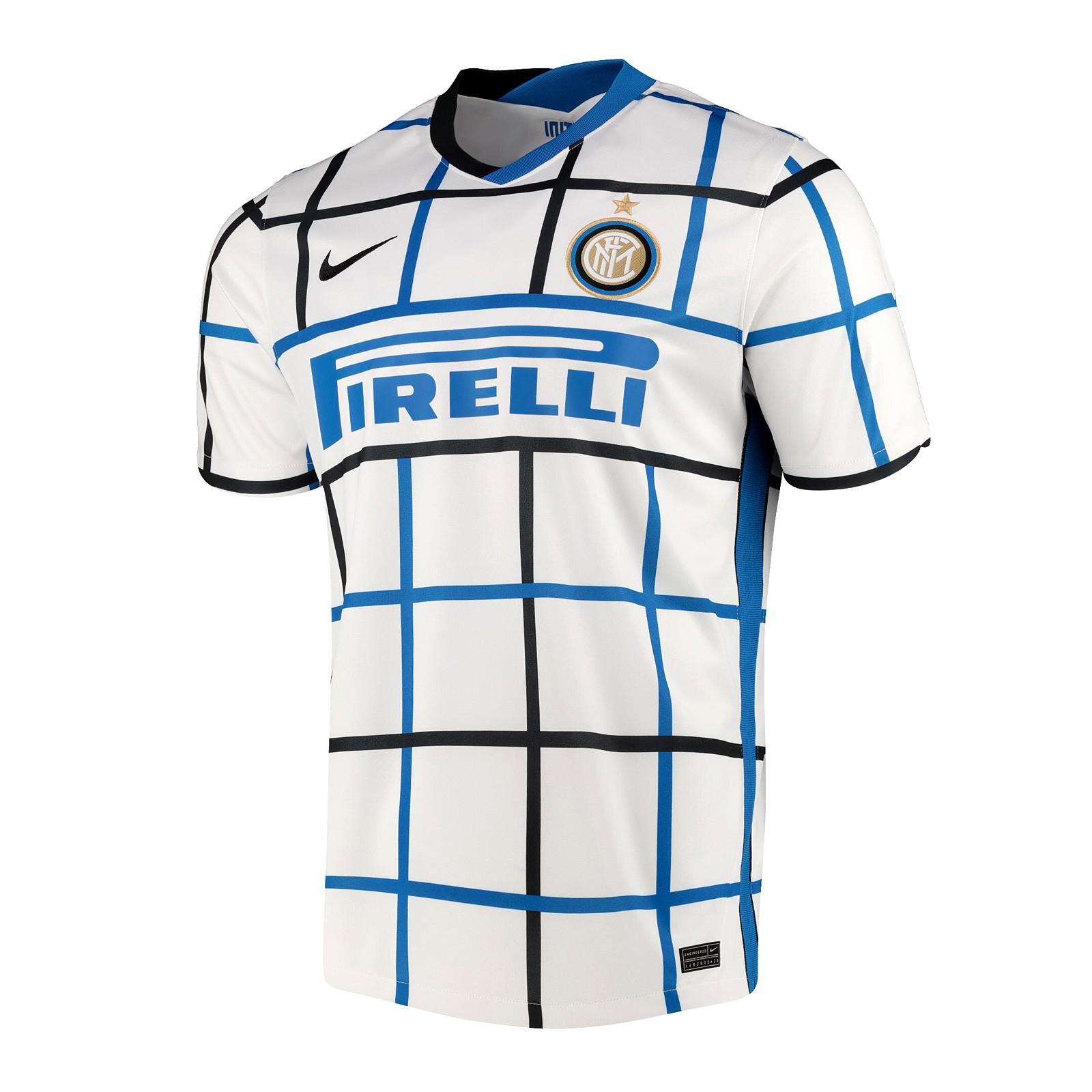 国际米兰2020-21赛季球迷版客场球衣
