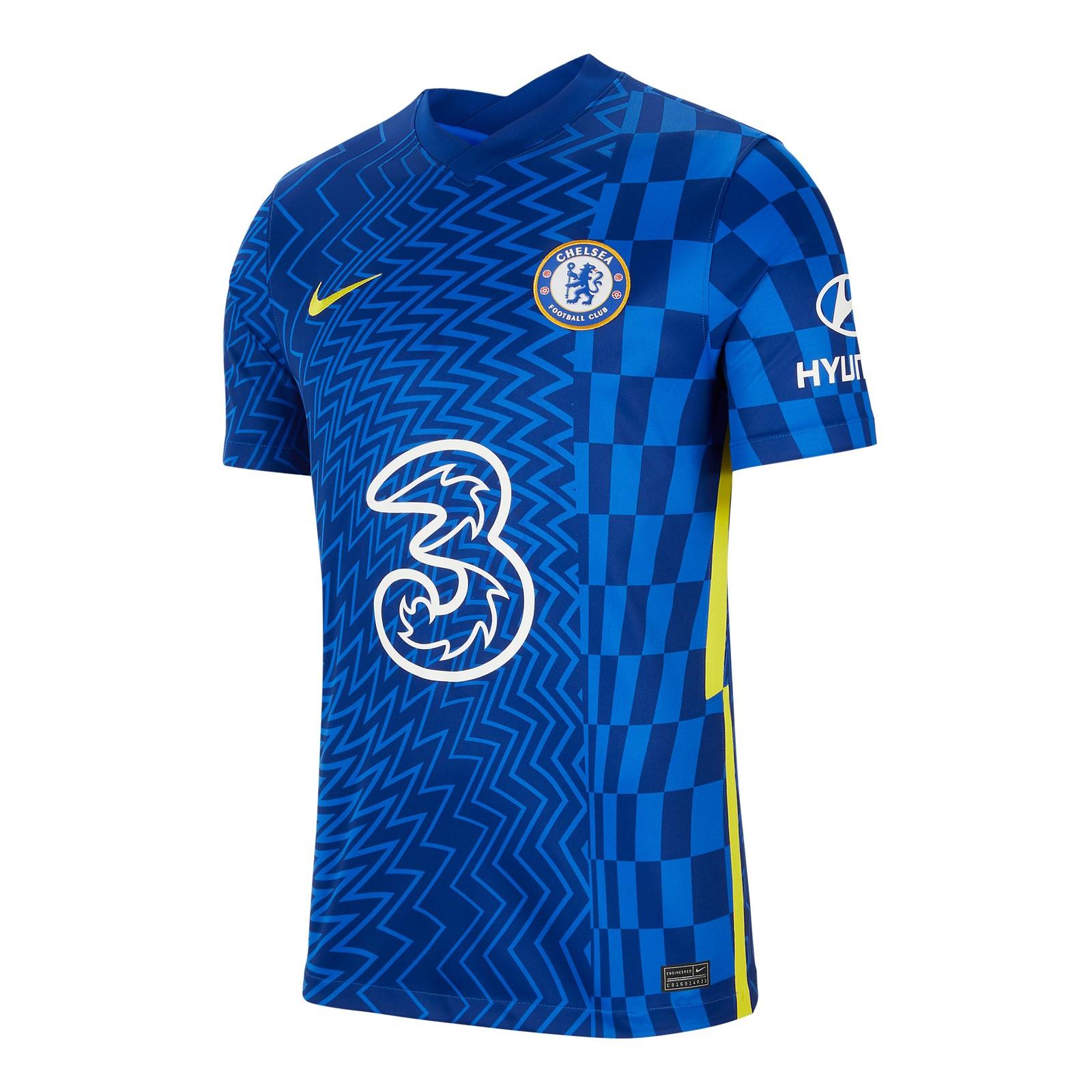 切尔西2021-22赛季球迷版主场球衣
