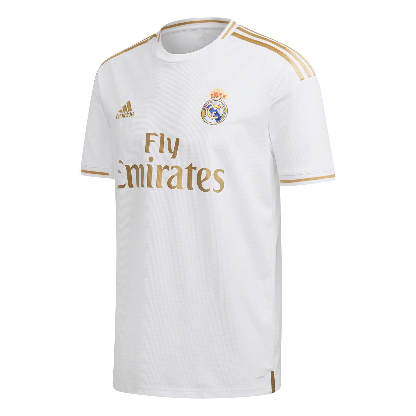 皇家马德里2019-20赛季球迷版主场球衣