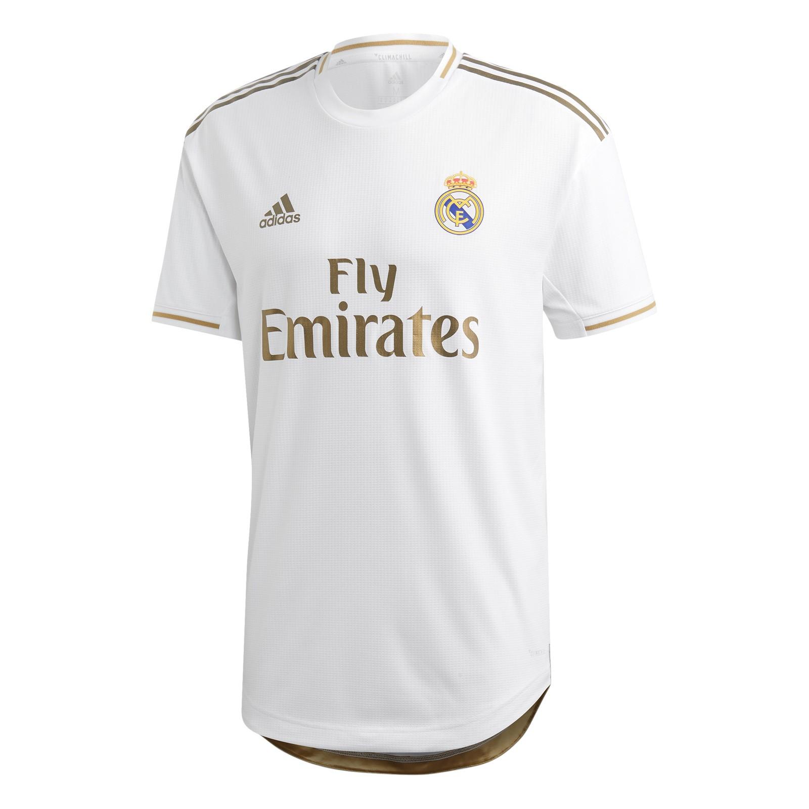 皇家马德里2019-20赛季球员版主场球衣