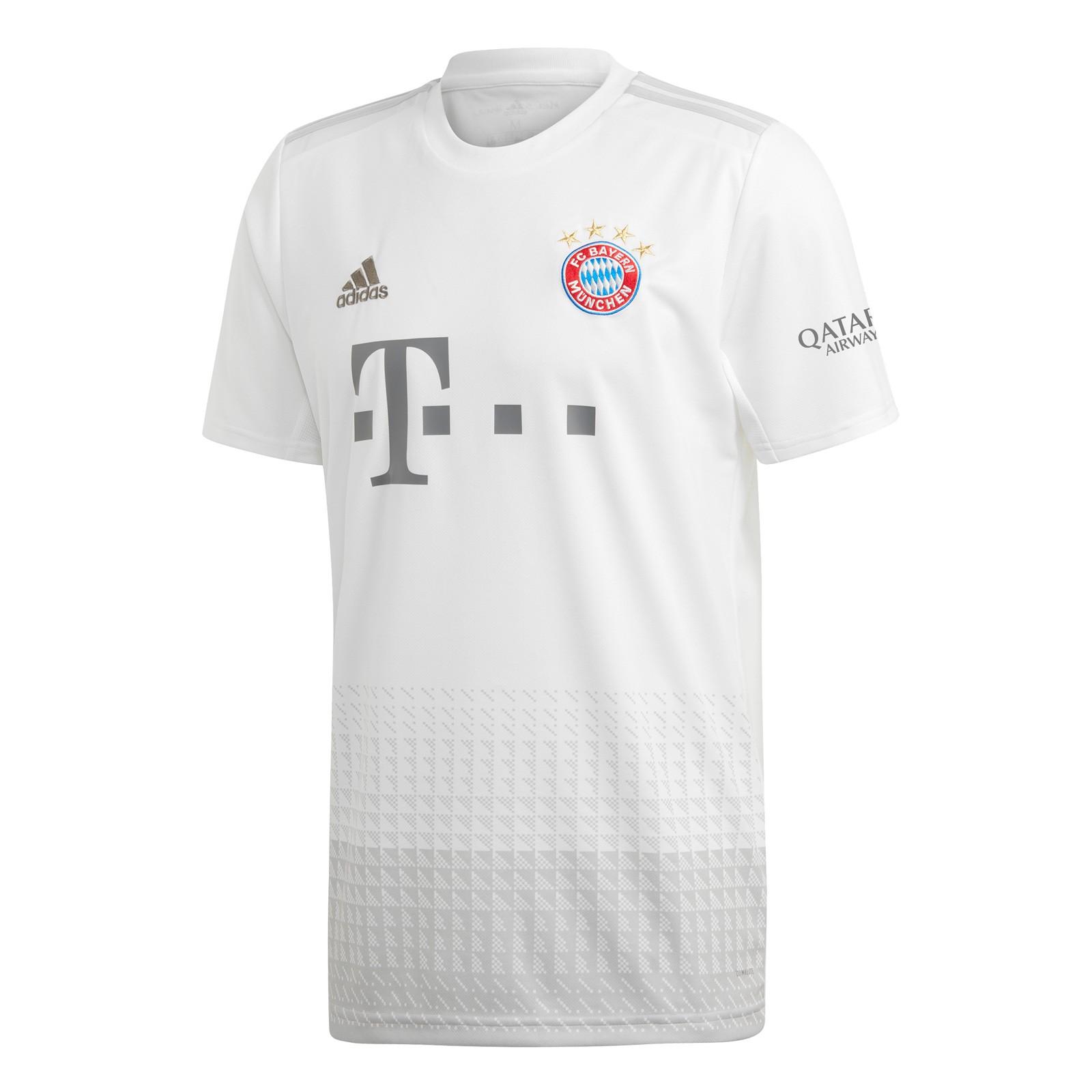 拜仁慕尼黑2019-20赛季球迷版客场球衣