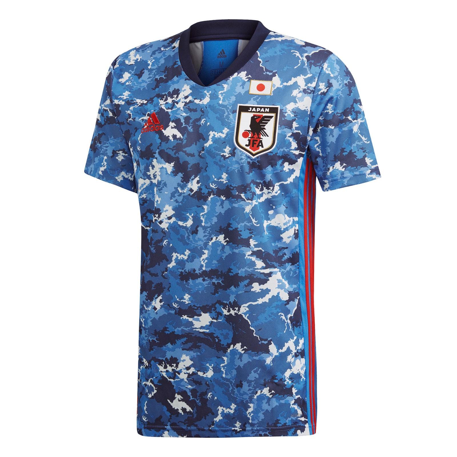 日本国家队2020赛季球迷版主场球衣