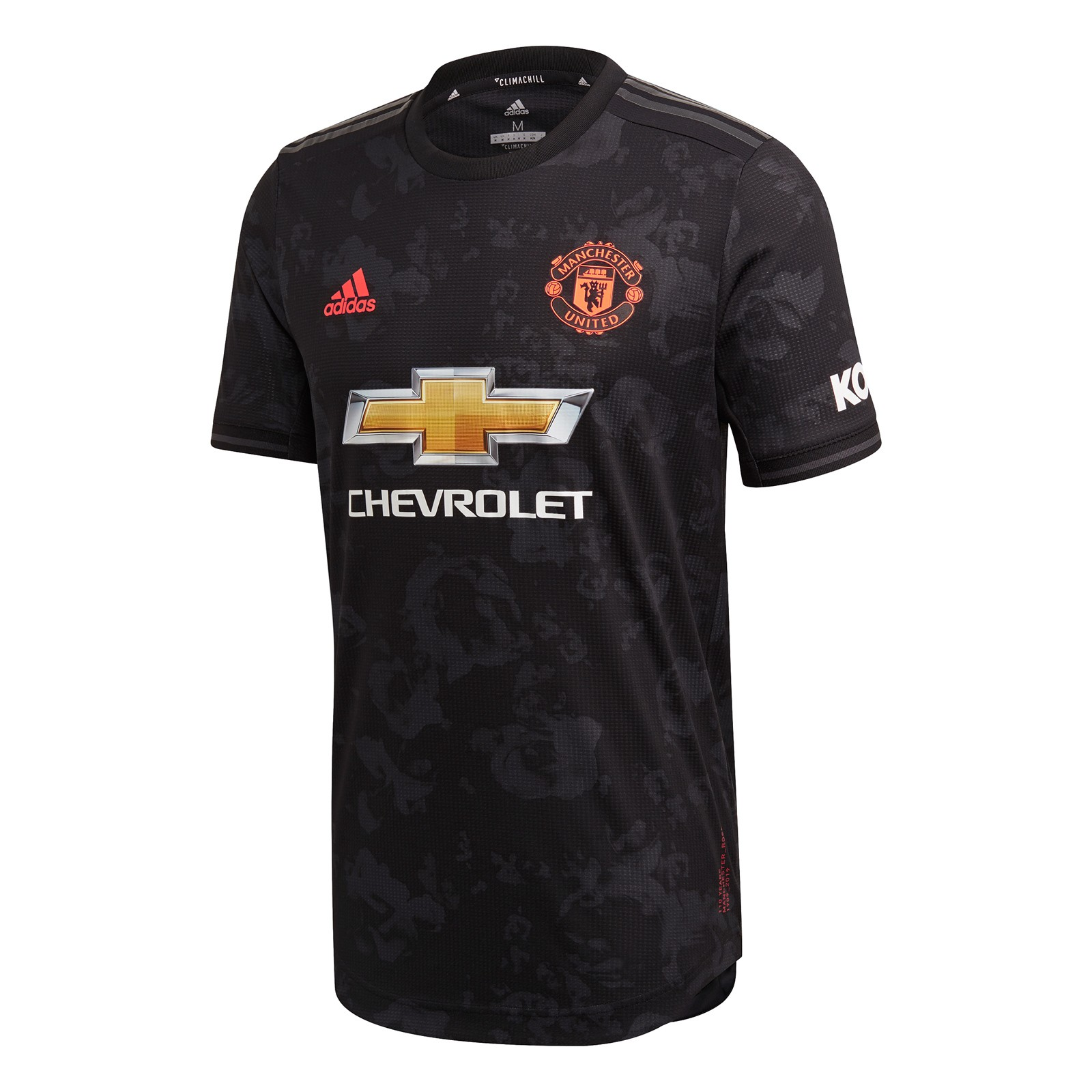 曼彻斯特联2019-20赛季球员版第二客场球衣