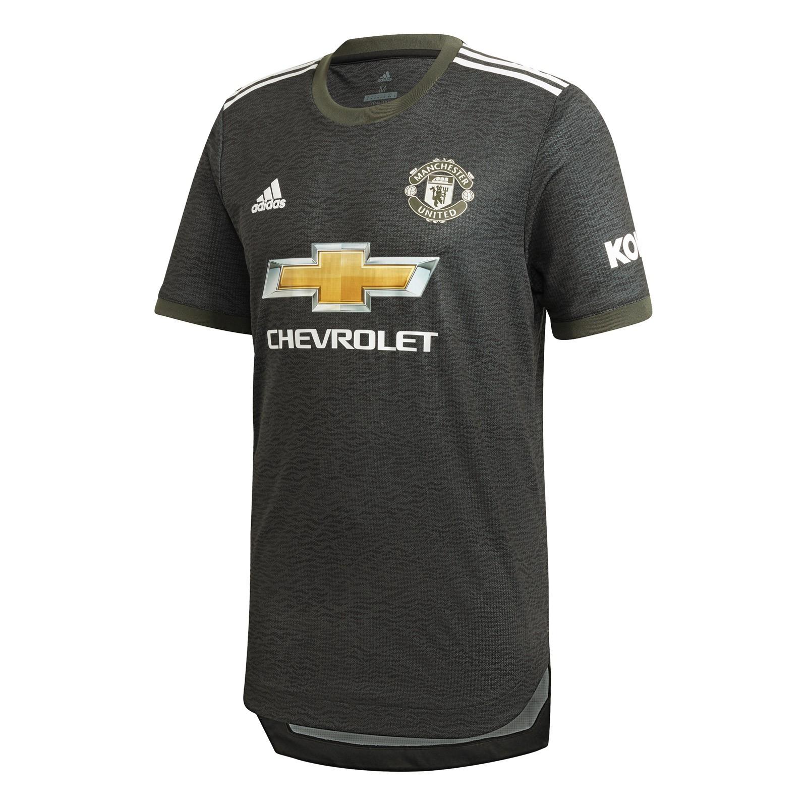 曼彻斯特联2020-21赛季球员版客场球衣
