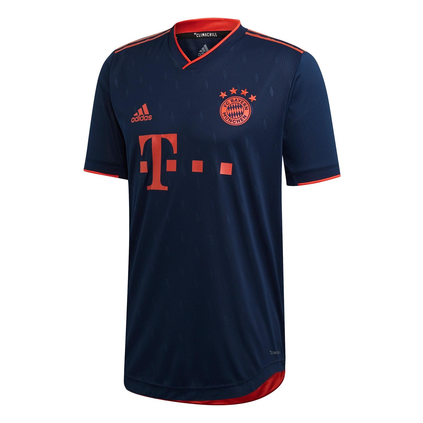 拜仁慕尼黑2019-20赛季欧冠联赛球员版球衣