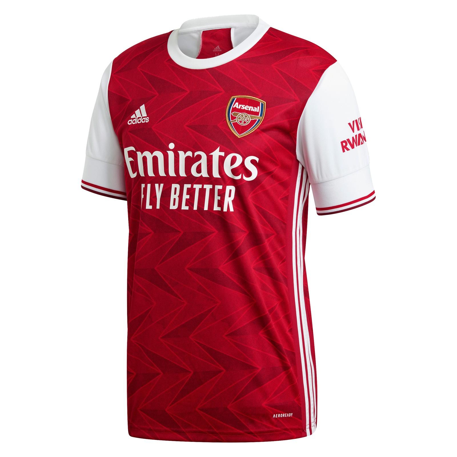 阿森纳2020-21赛季球迷版主场球衣