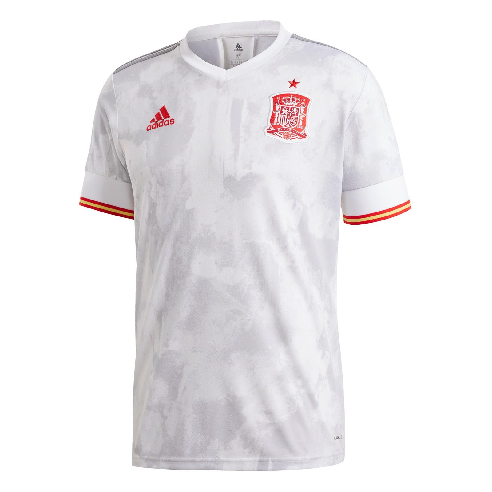 西班牙国家队2020欧洲杯球迷版客场球衣