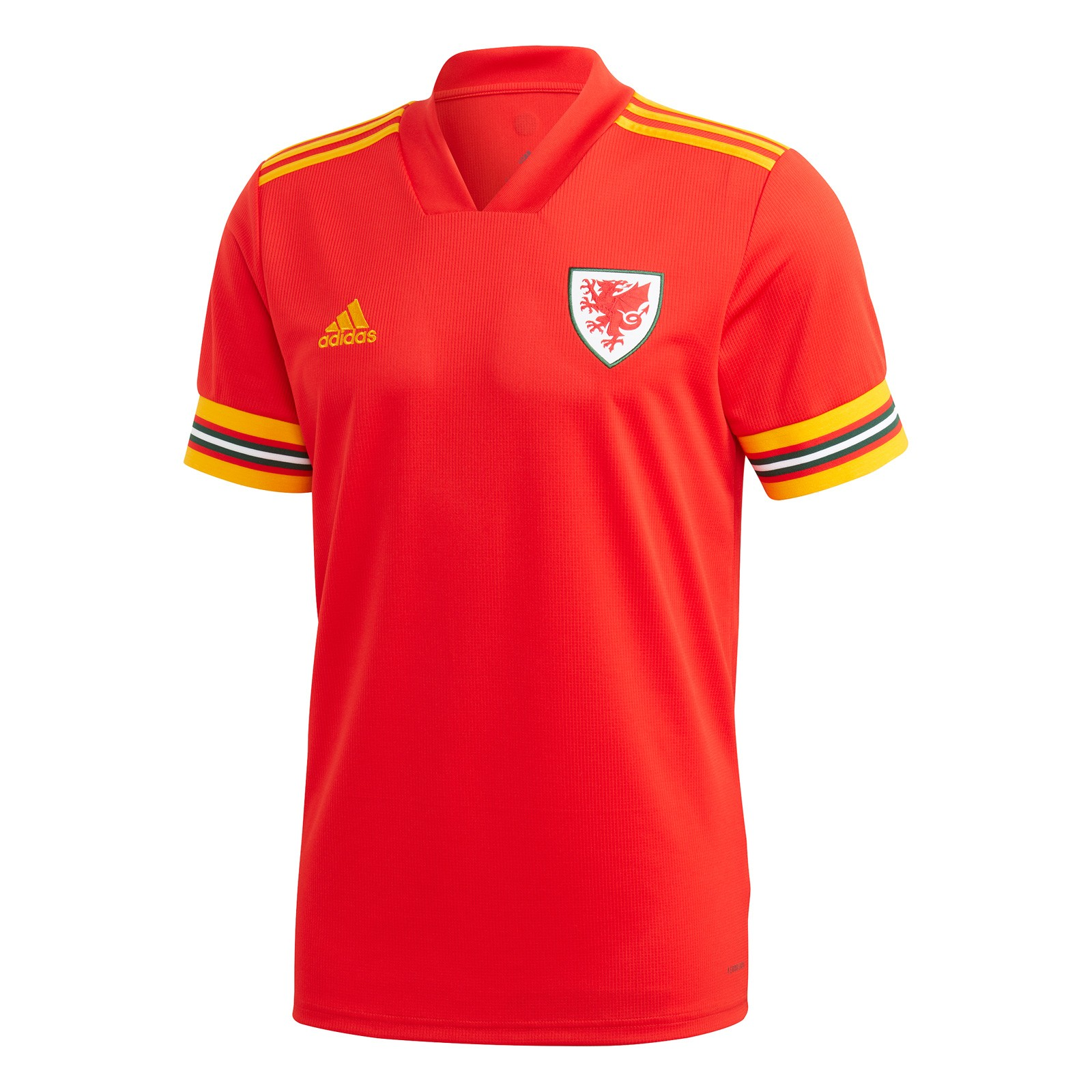 威尔士代表队2020欧洲杯球迷版主场球衣