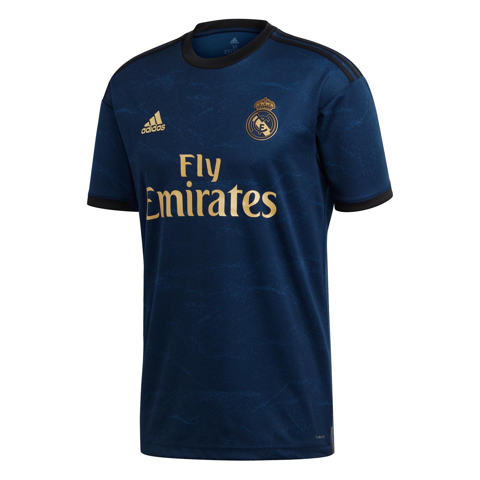 皇家马德里2019-20赛季球迷版客场球衣