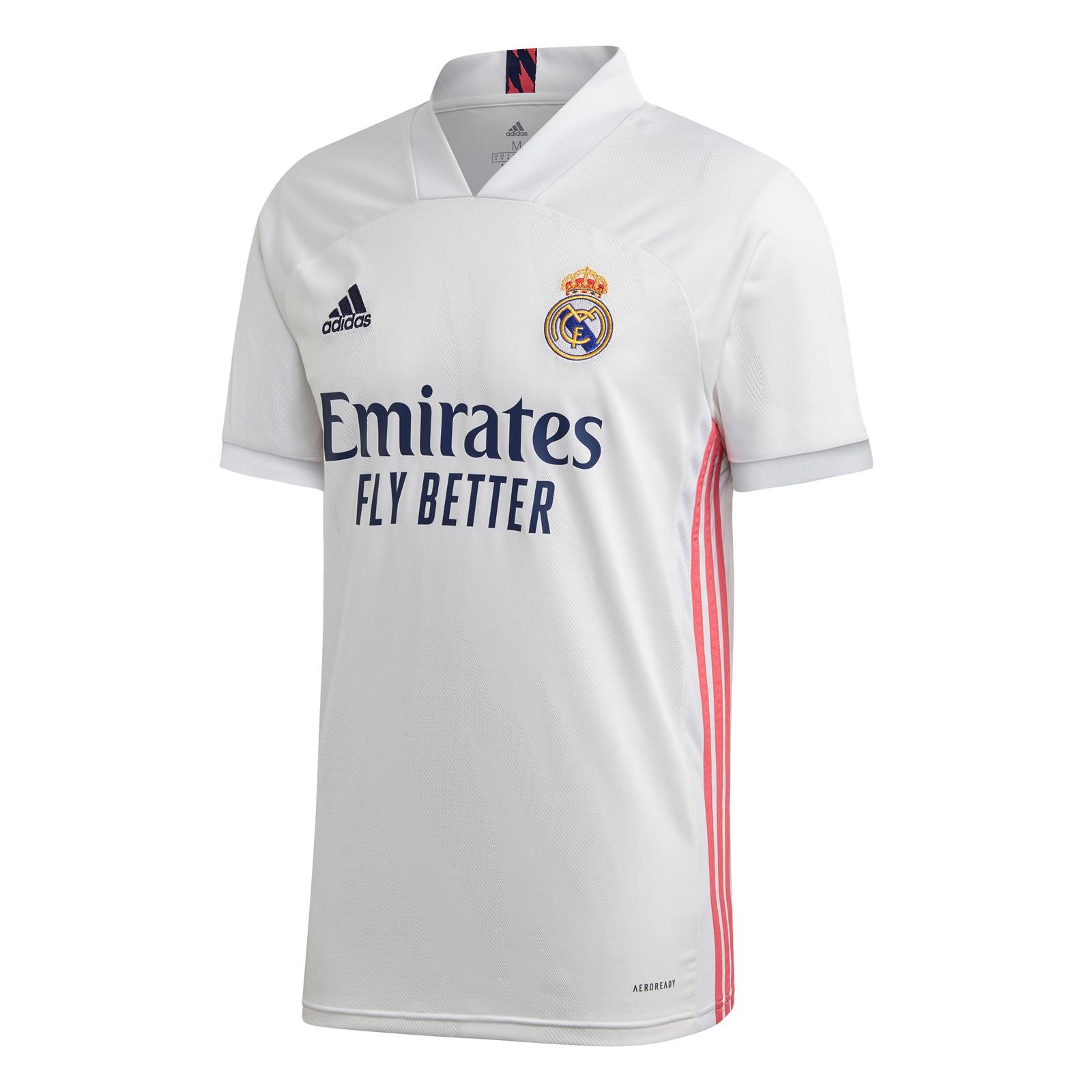 皇家马德里2020-21赛季球迷版主场球衣