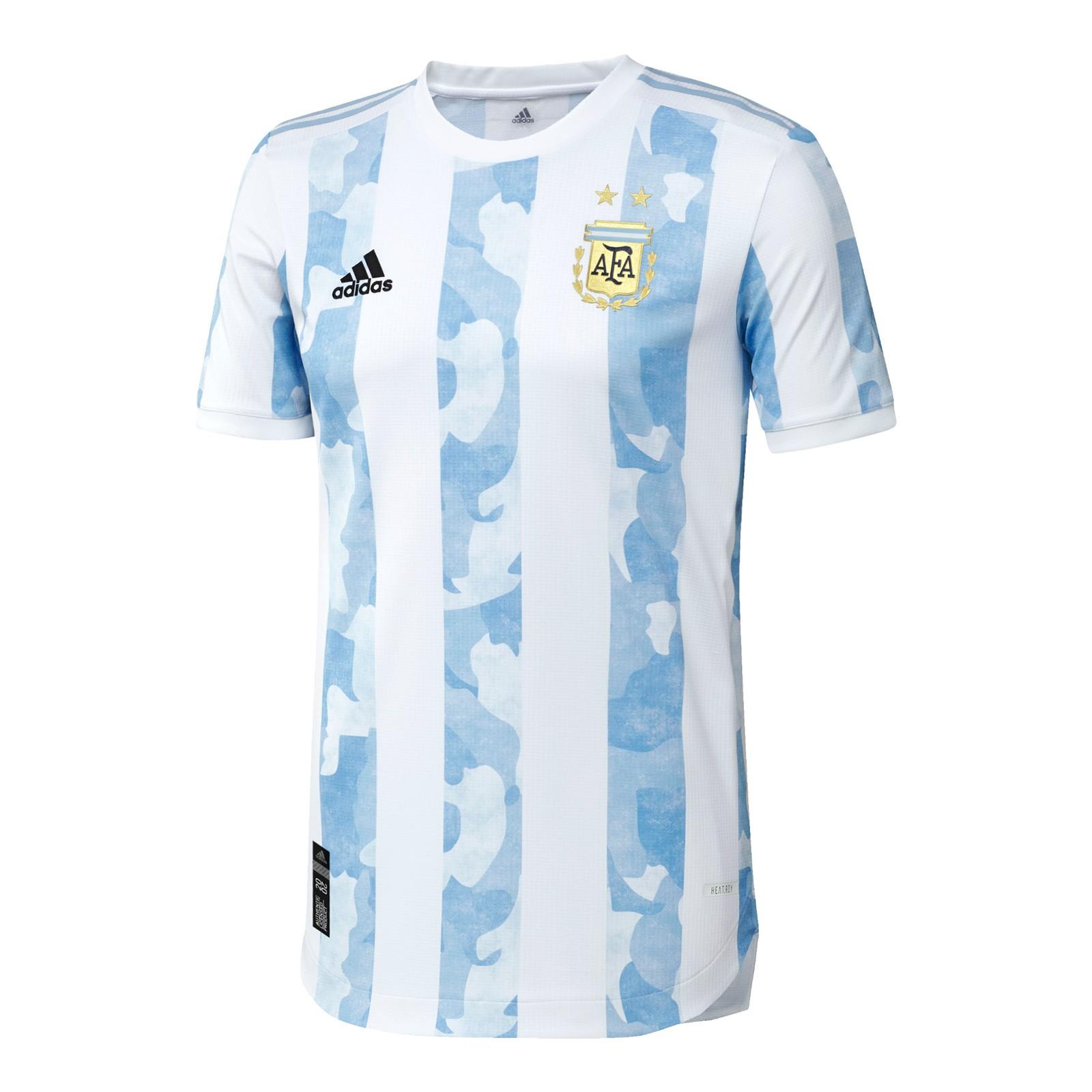 阿根廷国家队2021美洲杯球员版主场球衣