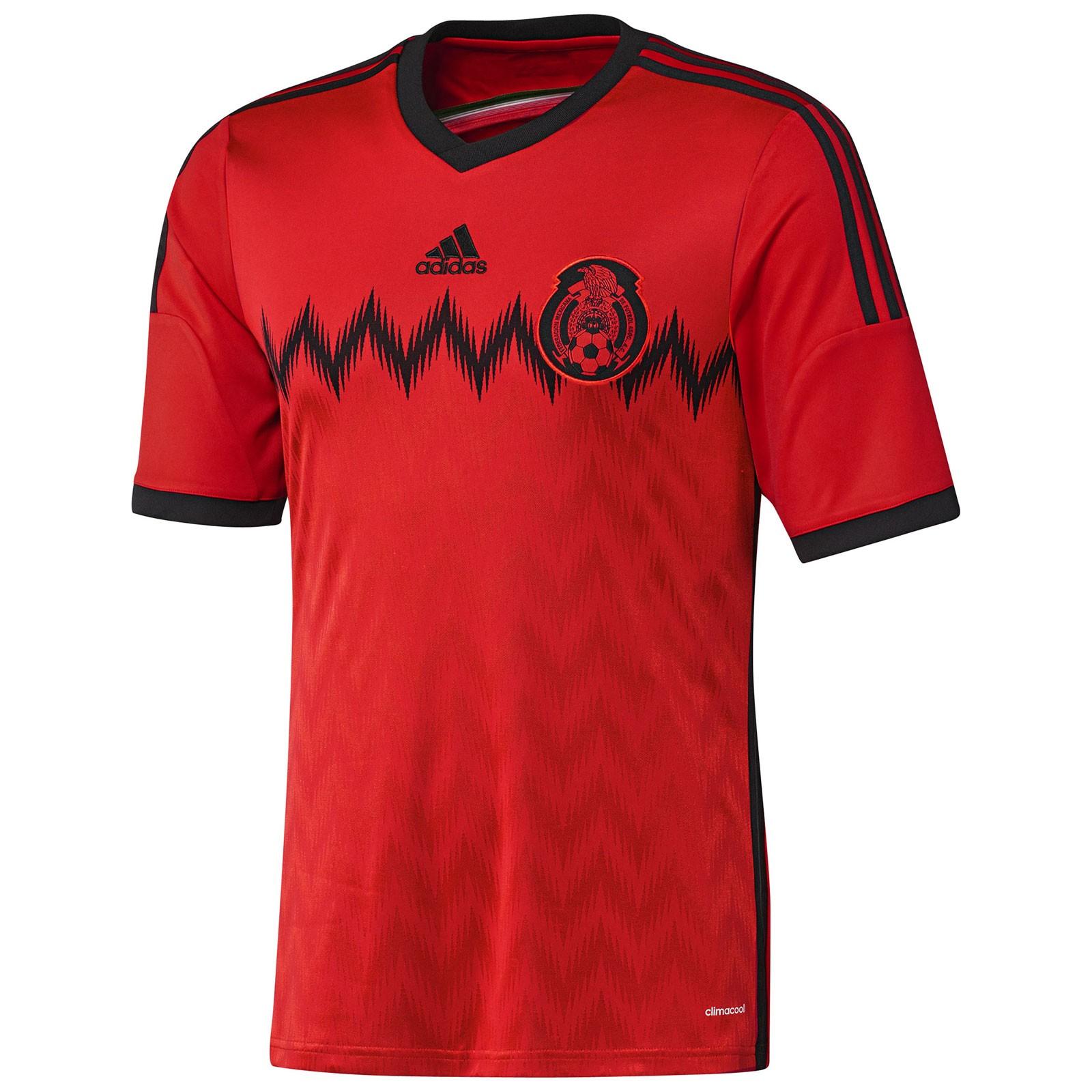 墨西哥国家队2014世界杯球迷版客场球衣