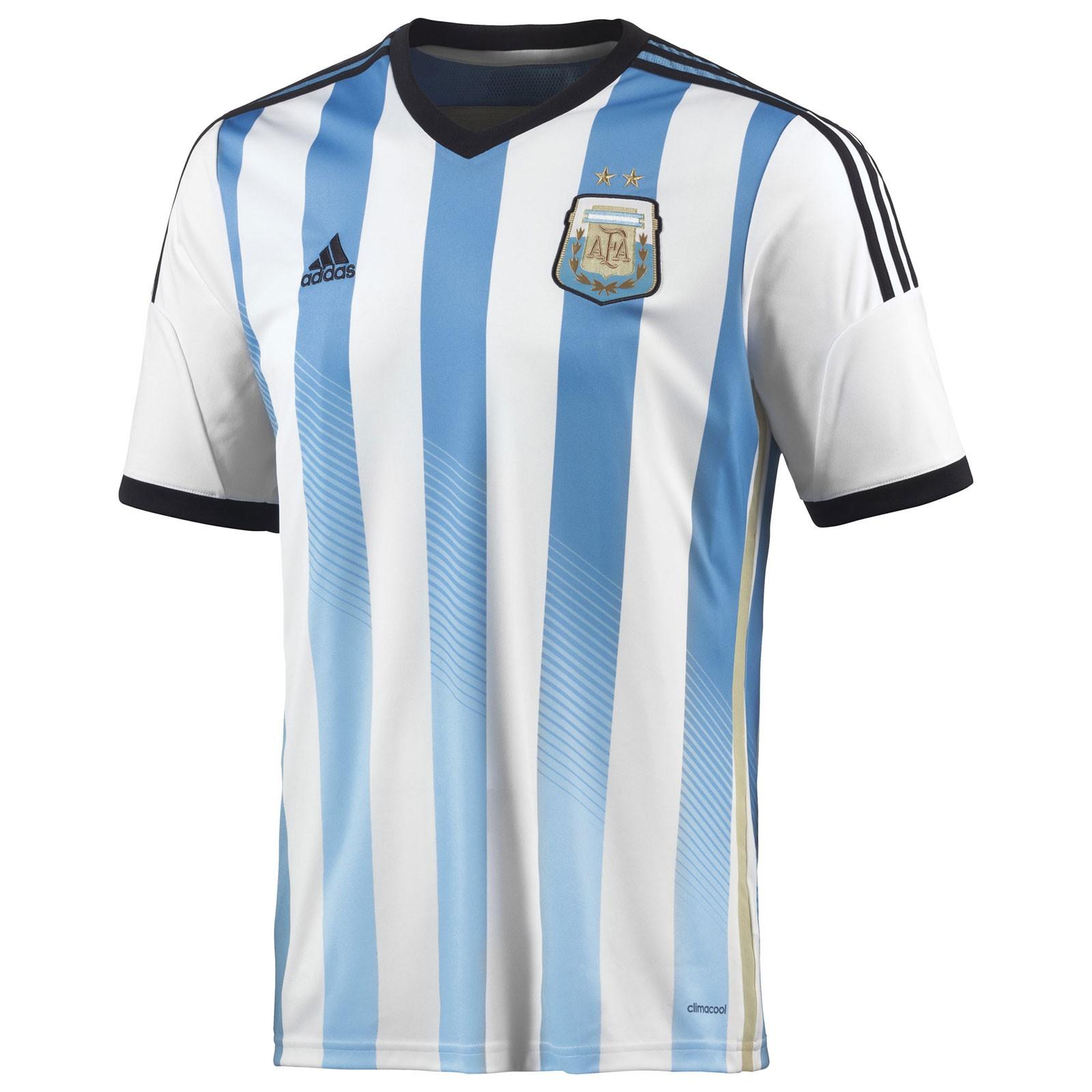 阿根廷国家队2014世界杯球迷版主场球衣
