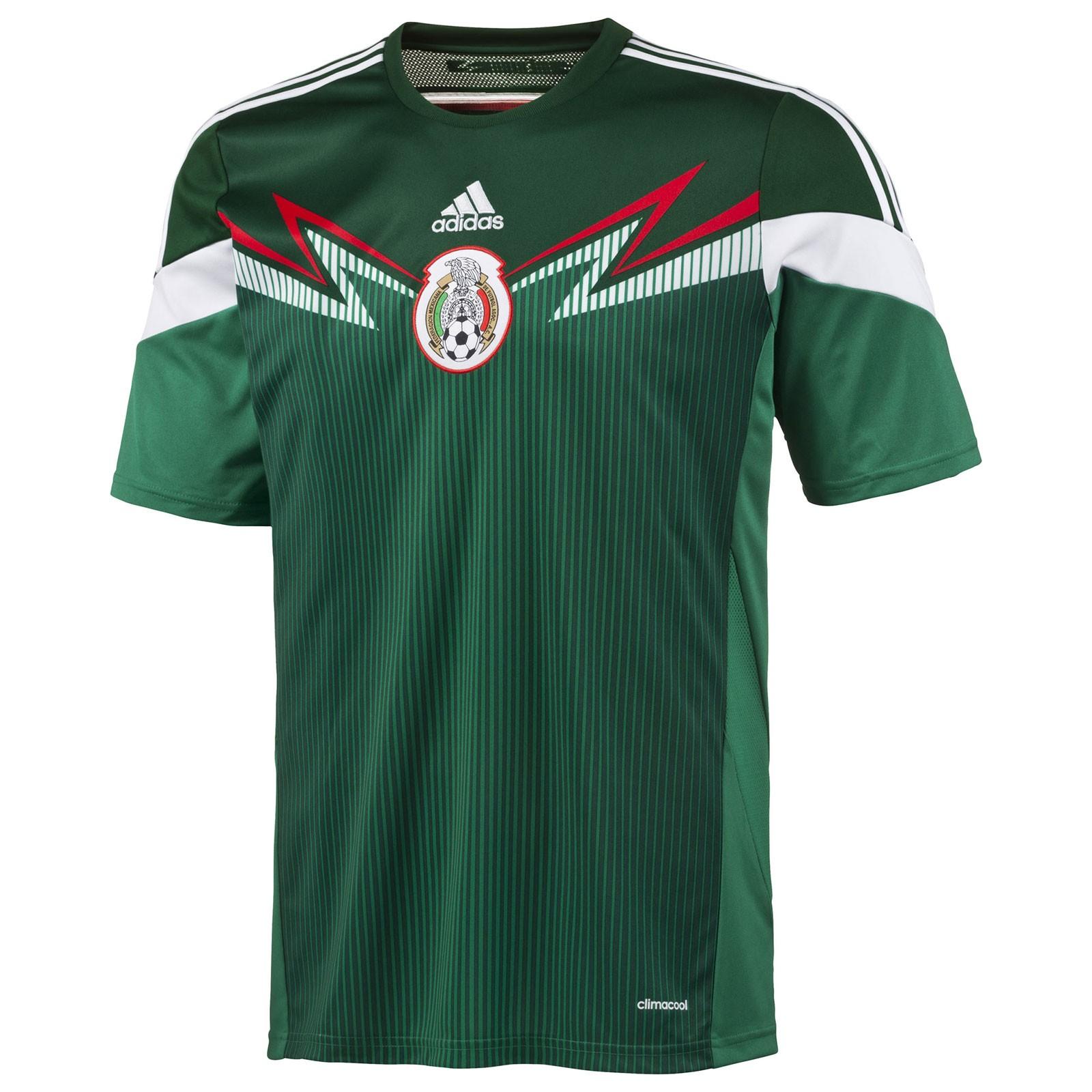 墨西哥国家队2014世界杯球迷版主场球衣