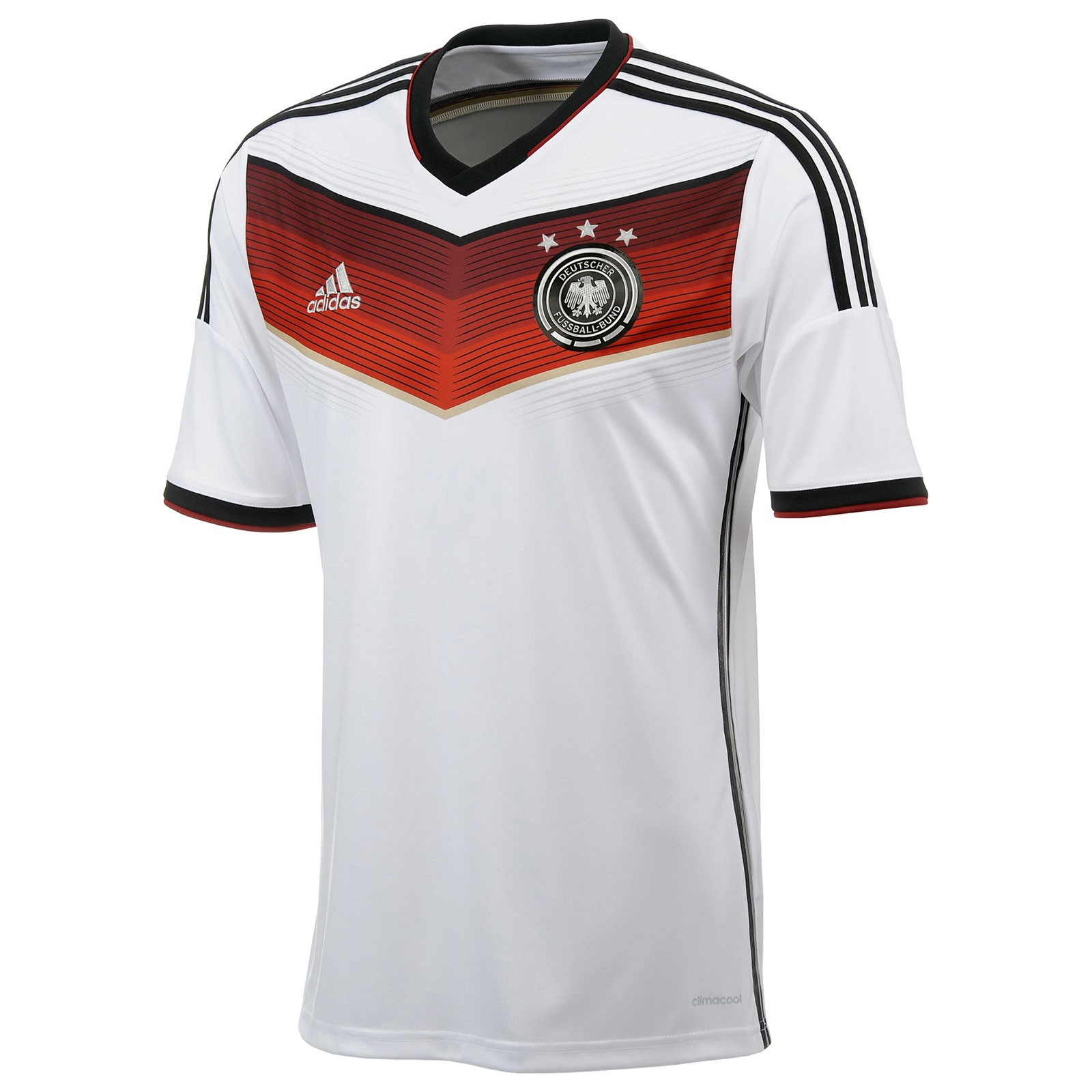 13 14 for Germany mercedes benz soccer jersey